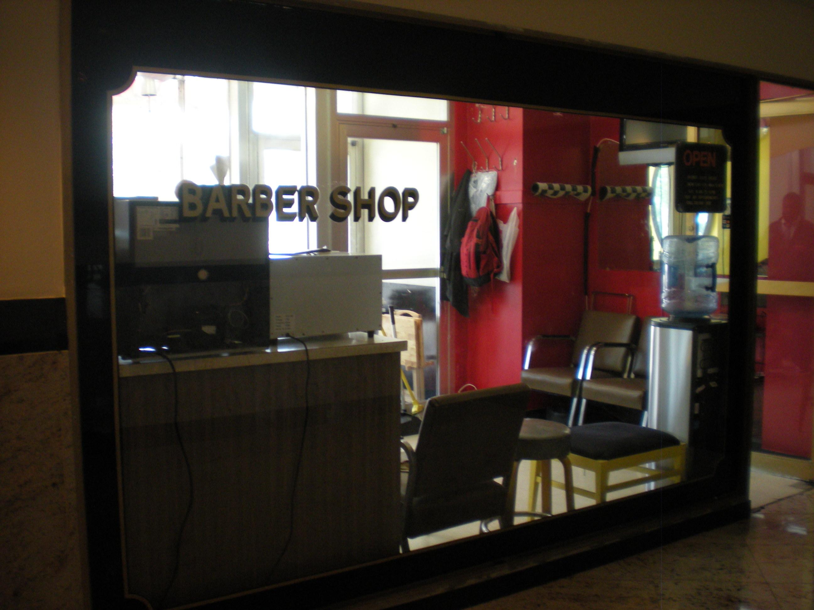 Old school barber shop photo