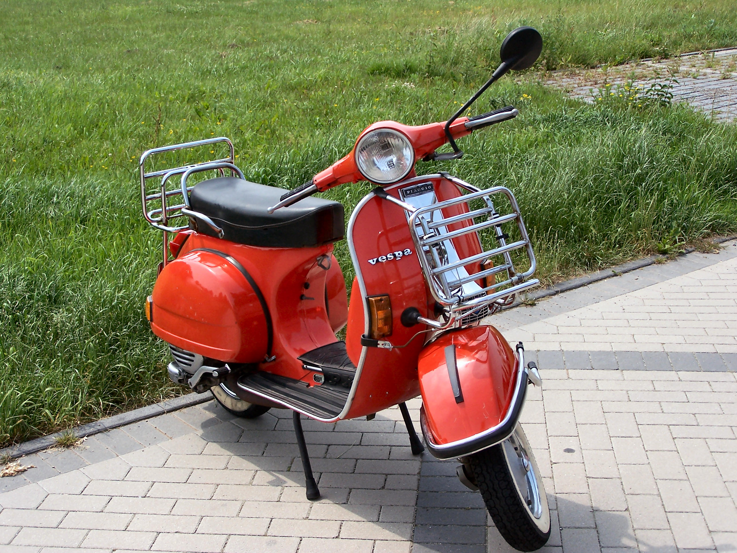 Old style scooter, Scooter, Transport, Vespa, Roller, HQ Photo