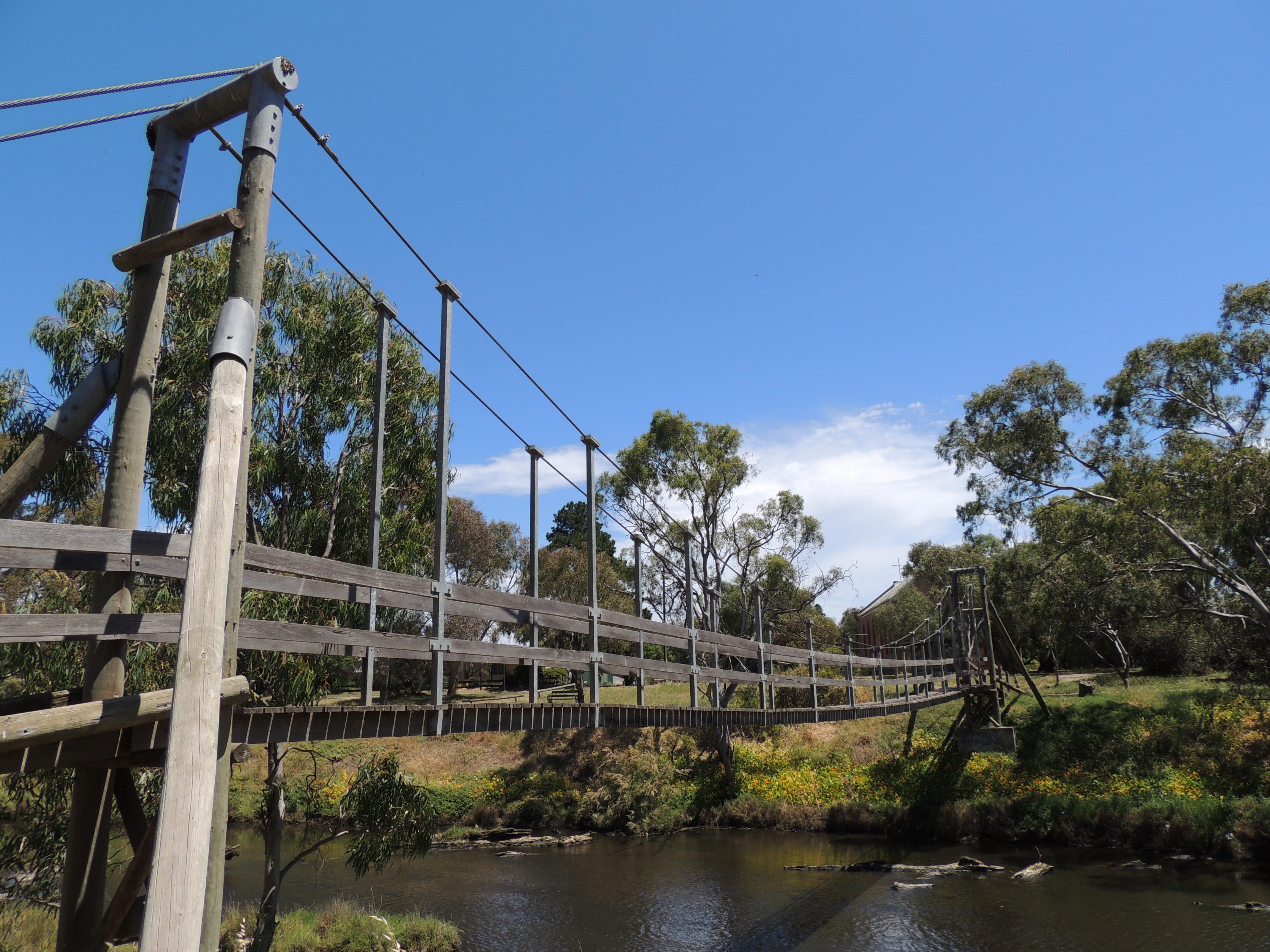 The Onkaparinga Swing Bridge - Adelaide