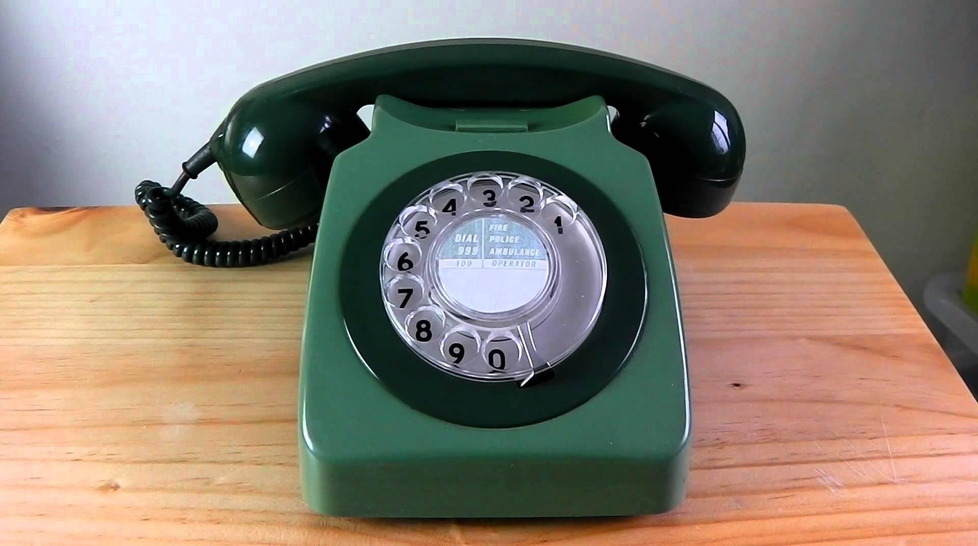 Old 1960s UK phone ringing - YouTube