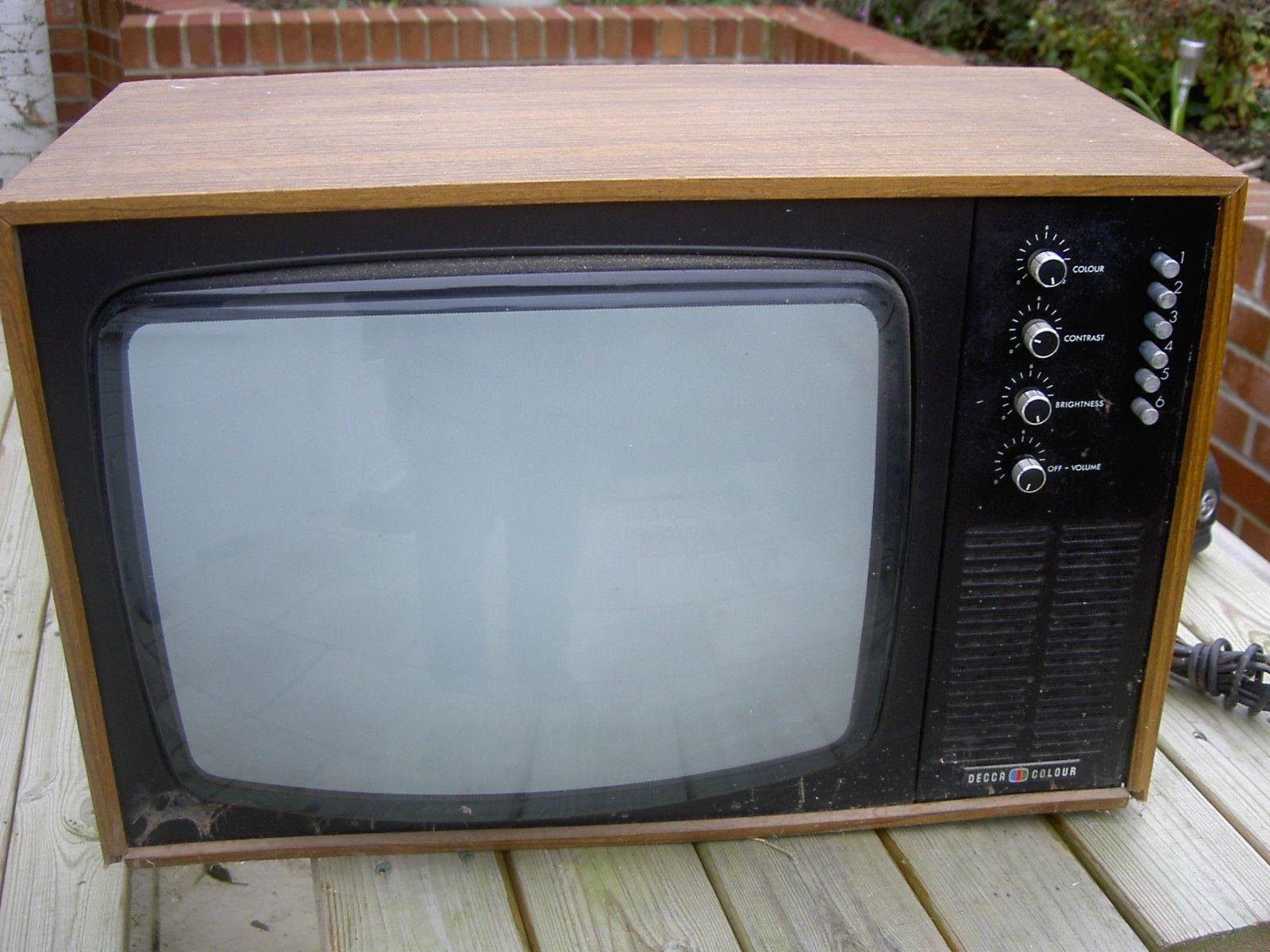 Vintage tv Old television Set Decca | Television Sets | Pinterest ...