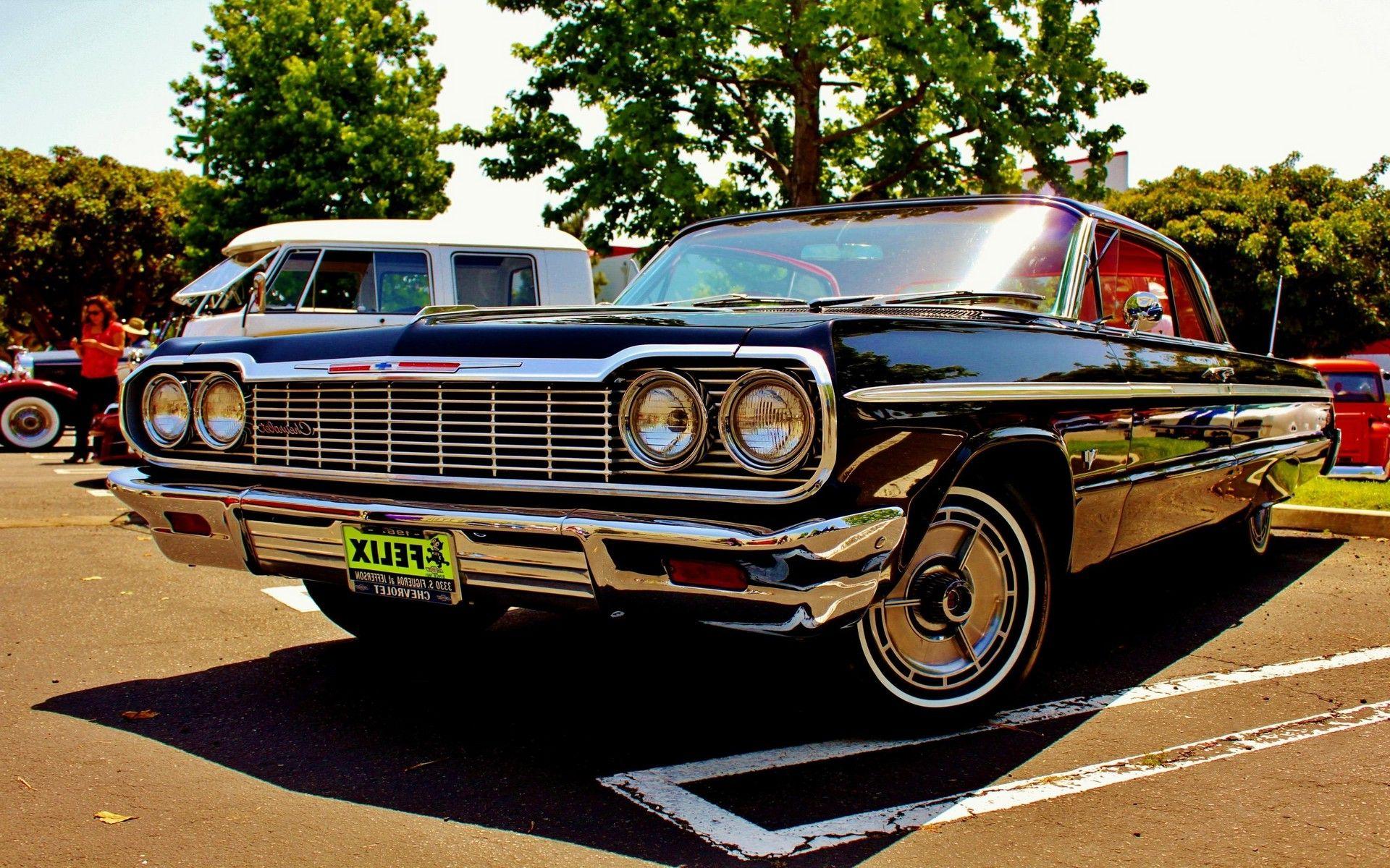 Chevrolet Car Old Impala Oldtimer Vehicle » Car Wallpapers, Photos ...