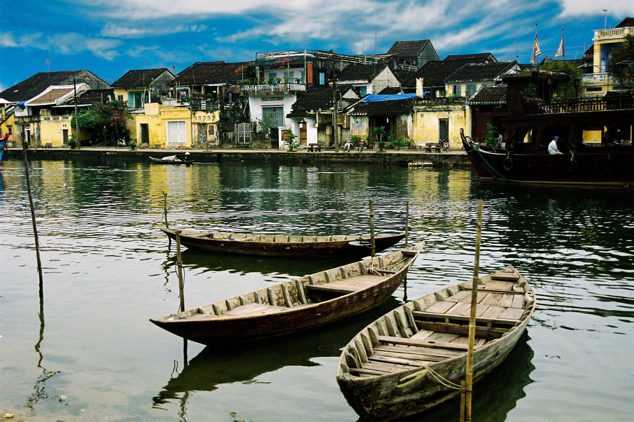 Old town, Boats, Bspo06, Buildings, Dalat, HQ Photo