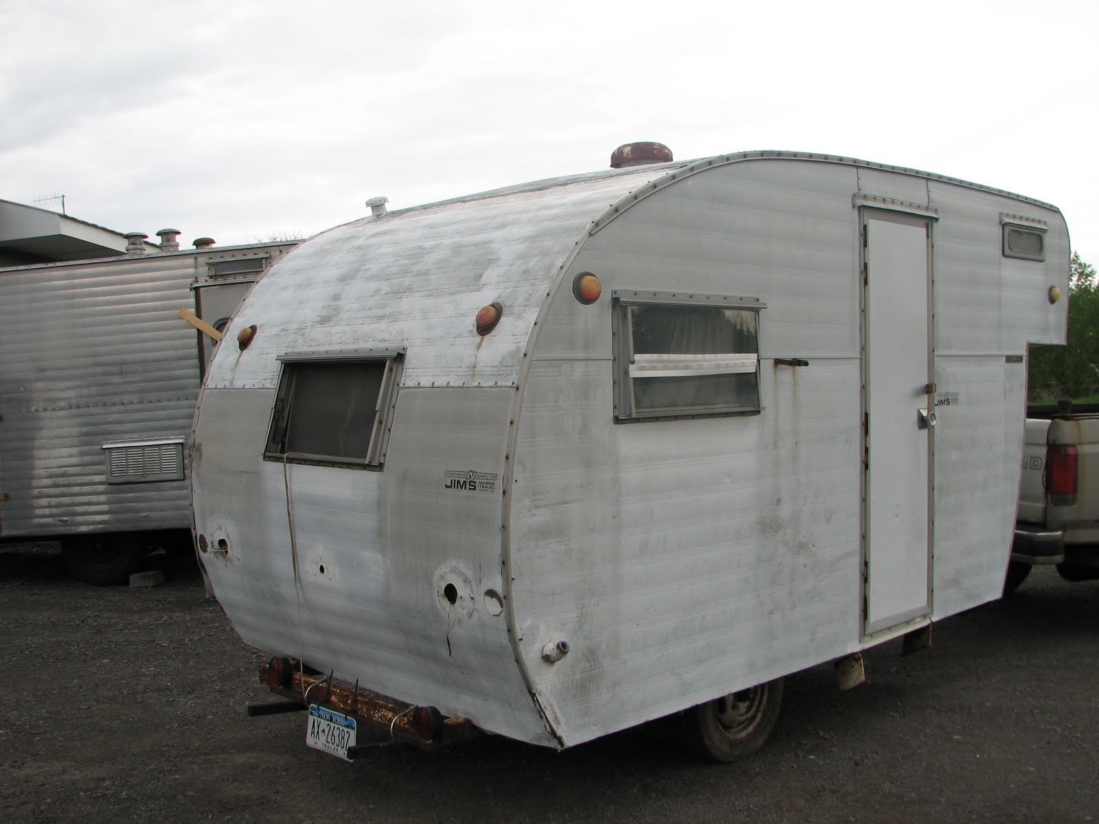 Free Photo Old Trailer