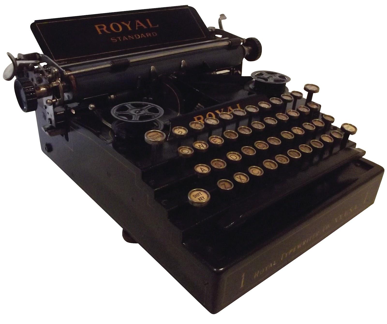 oz.Typewriter: The Sorry Saga of the Royal Standard 1 Typewriter