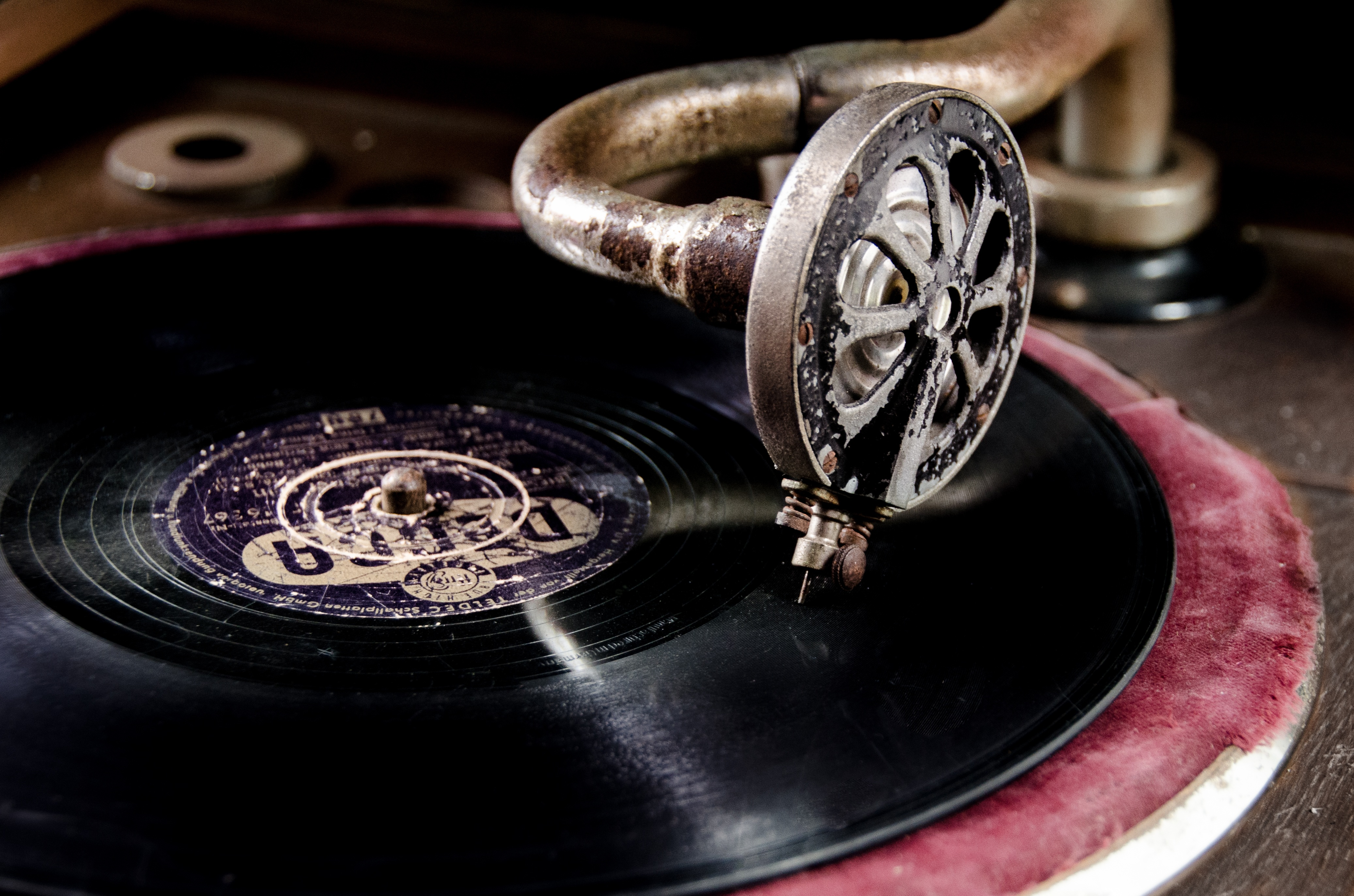 Old Vinyl, Disc, Music, Musical, Object, HQ Photo