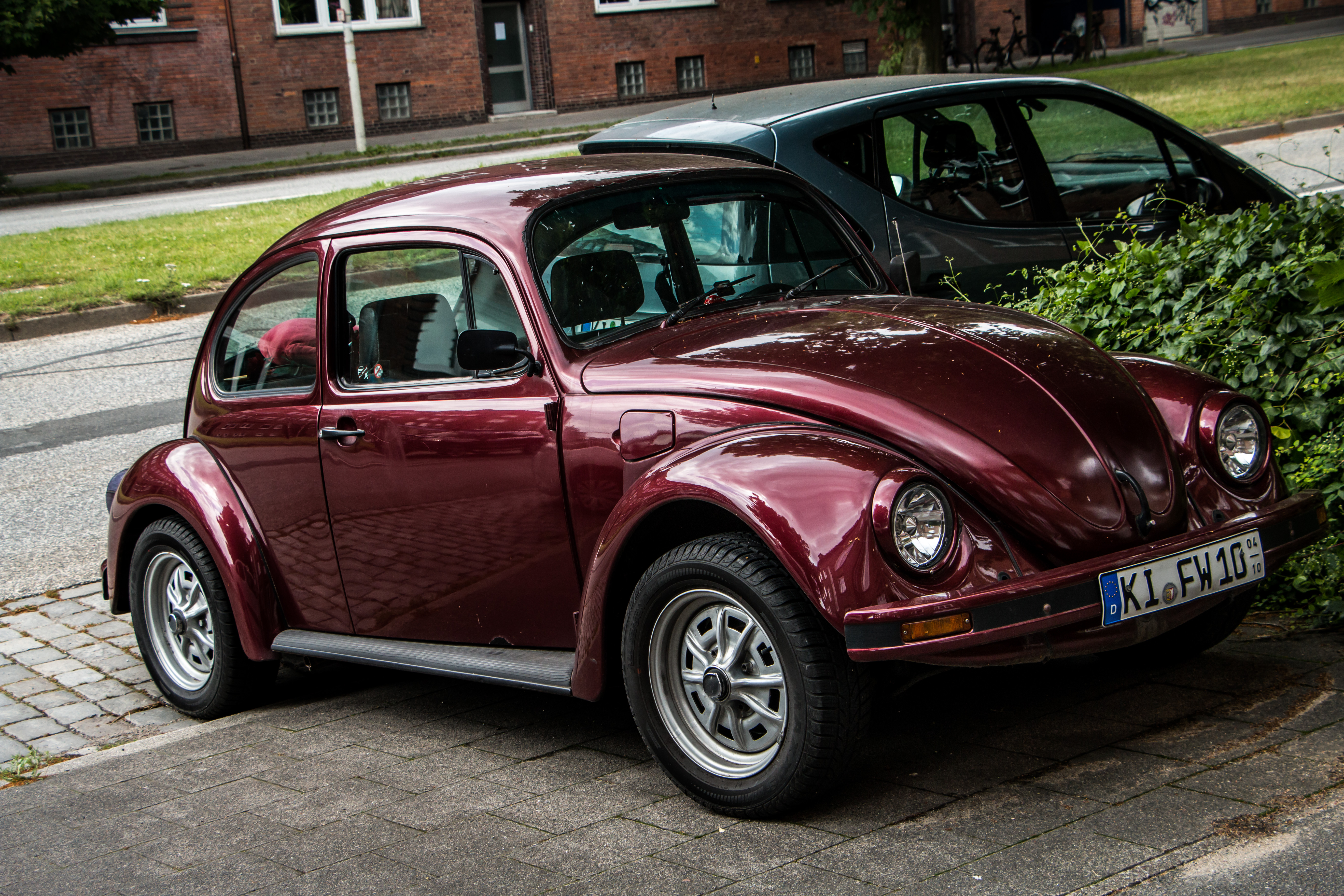 Old Volkswagen, Auto, Beautiful, Car, Cherry, HQ Photo