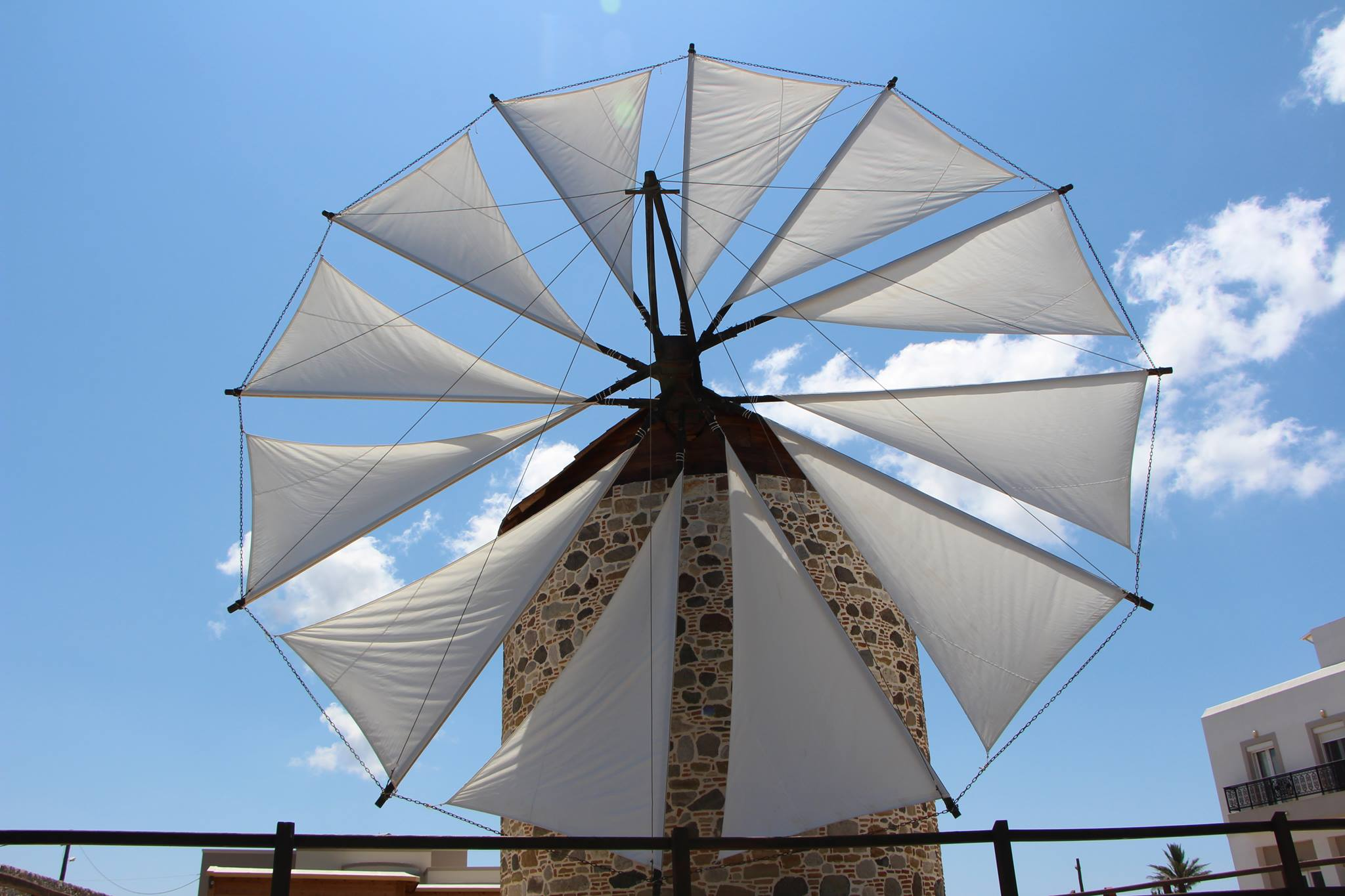 At the Old Windmill of Antimachia, History and Souvenirs