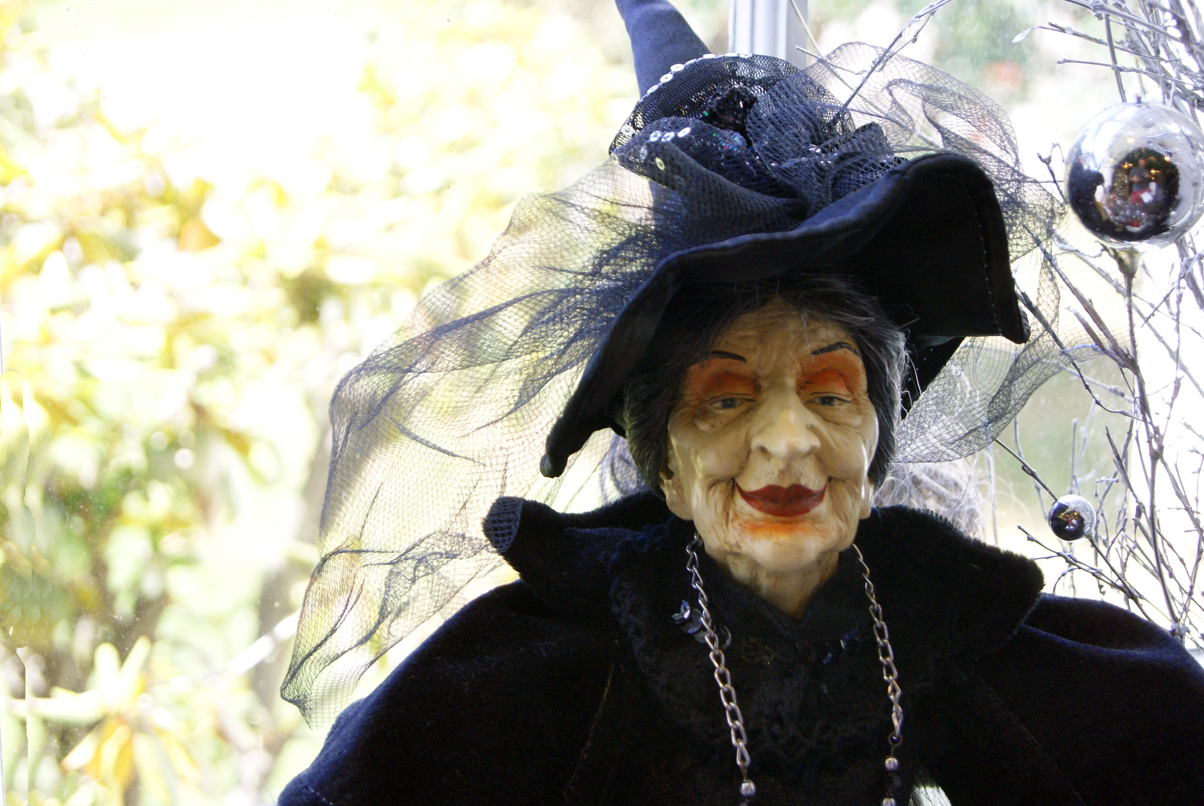 Old Witch, Woman, Puppet, Holiday, Horror, HQ Photo
