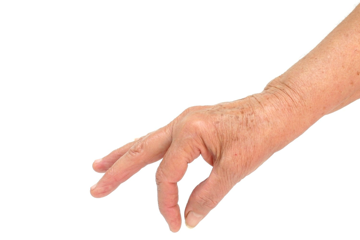 Old woman hand photo