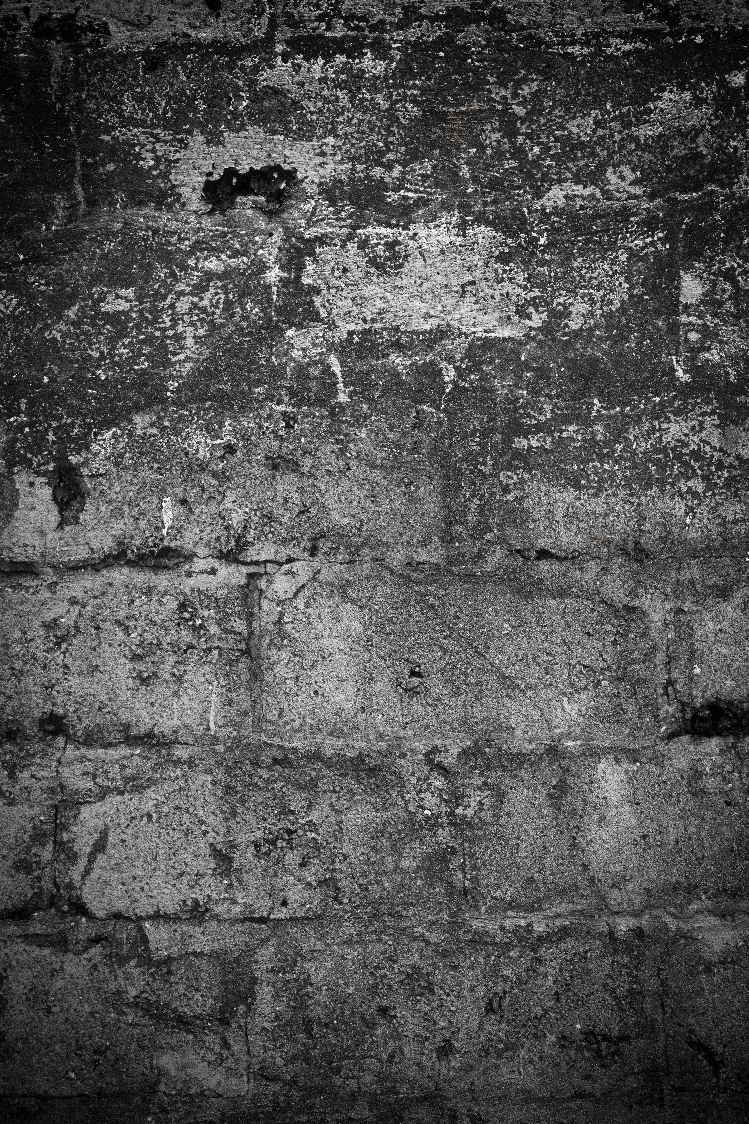 Old worn stone wall photo