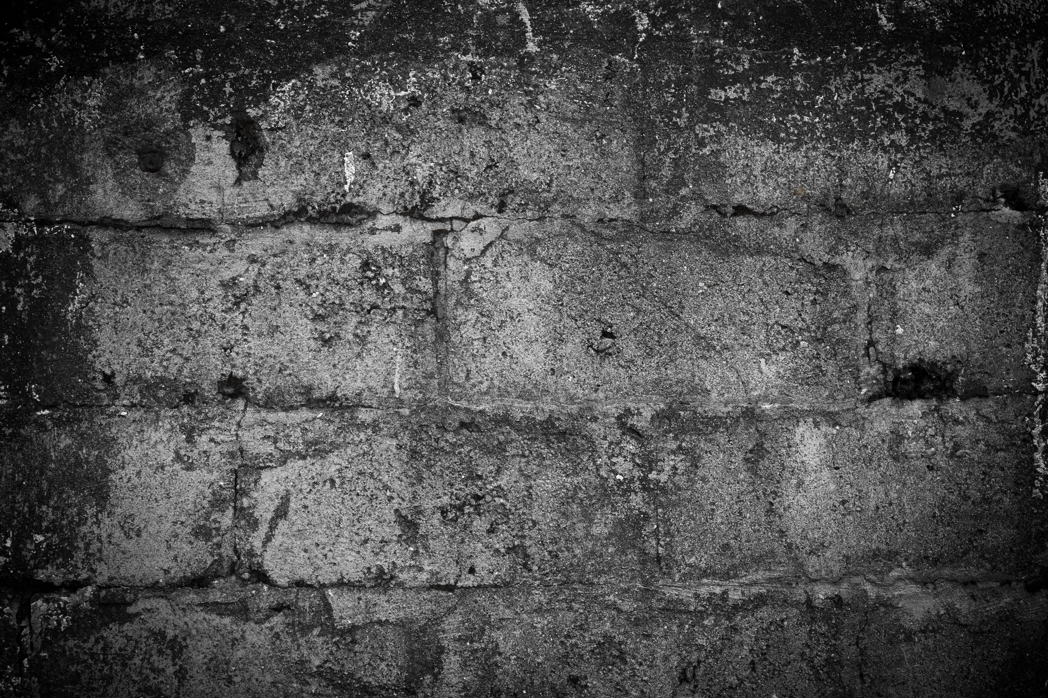 Old worn stone wall photo