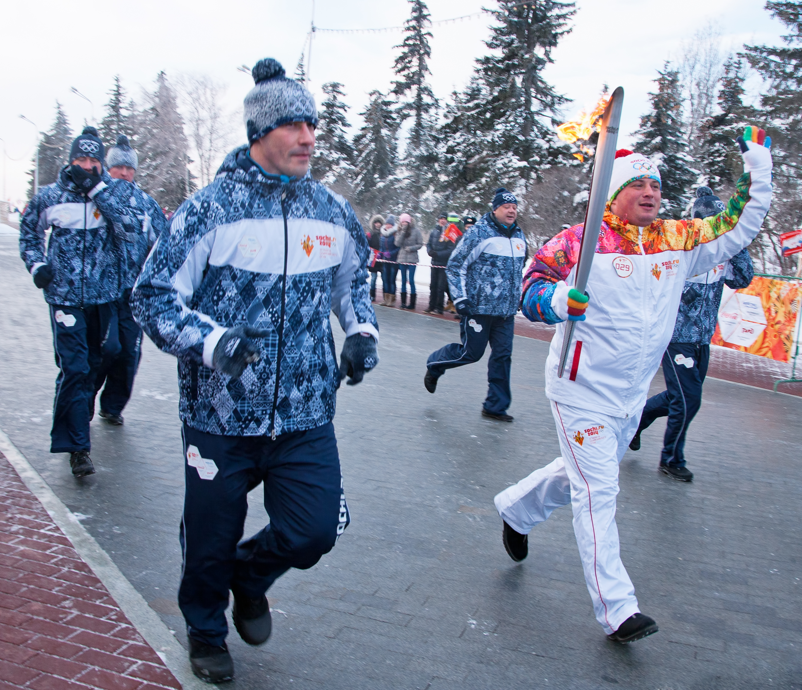 Olympic flame photo