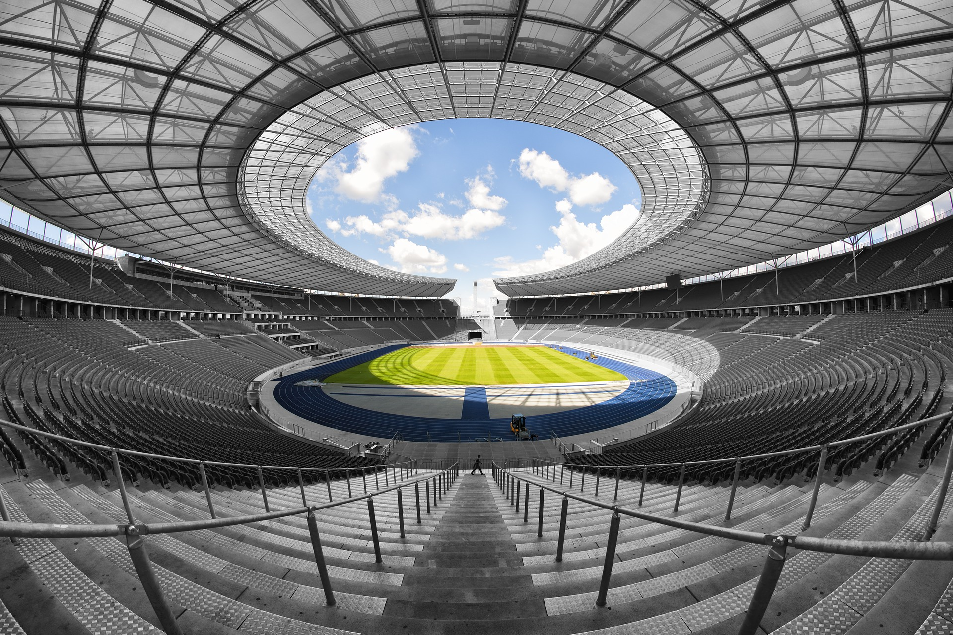 Olympic stadium photo