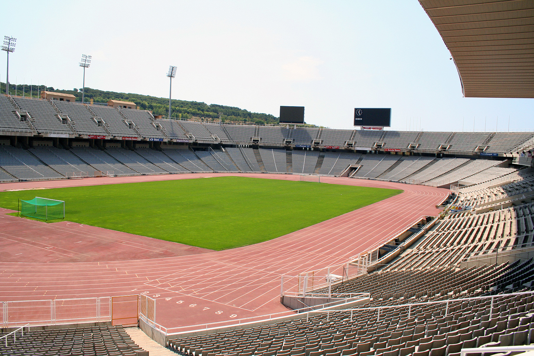 Olympic stadium, barcelona, spain photo