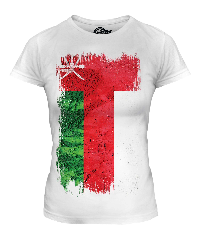 Oman grunge flag photo