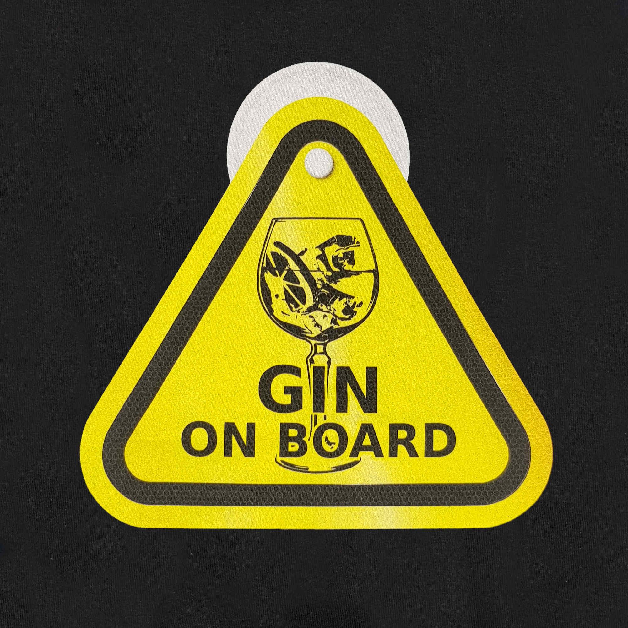 Gin T-Shirt - Gin On Board – Ginsanity