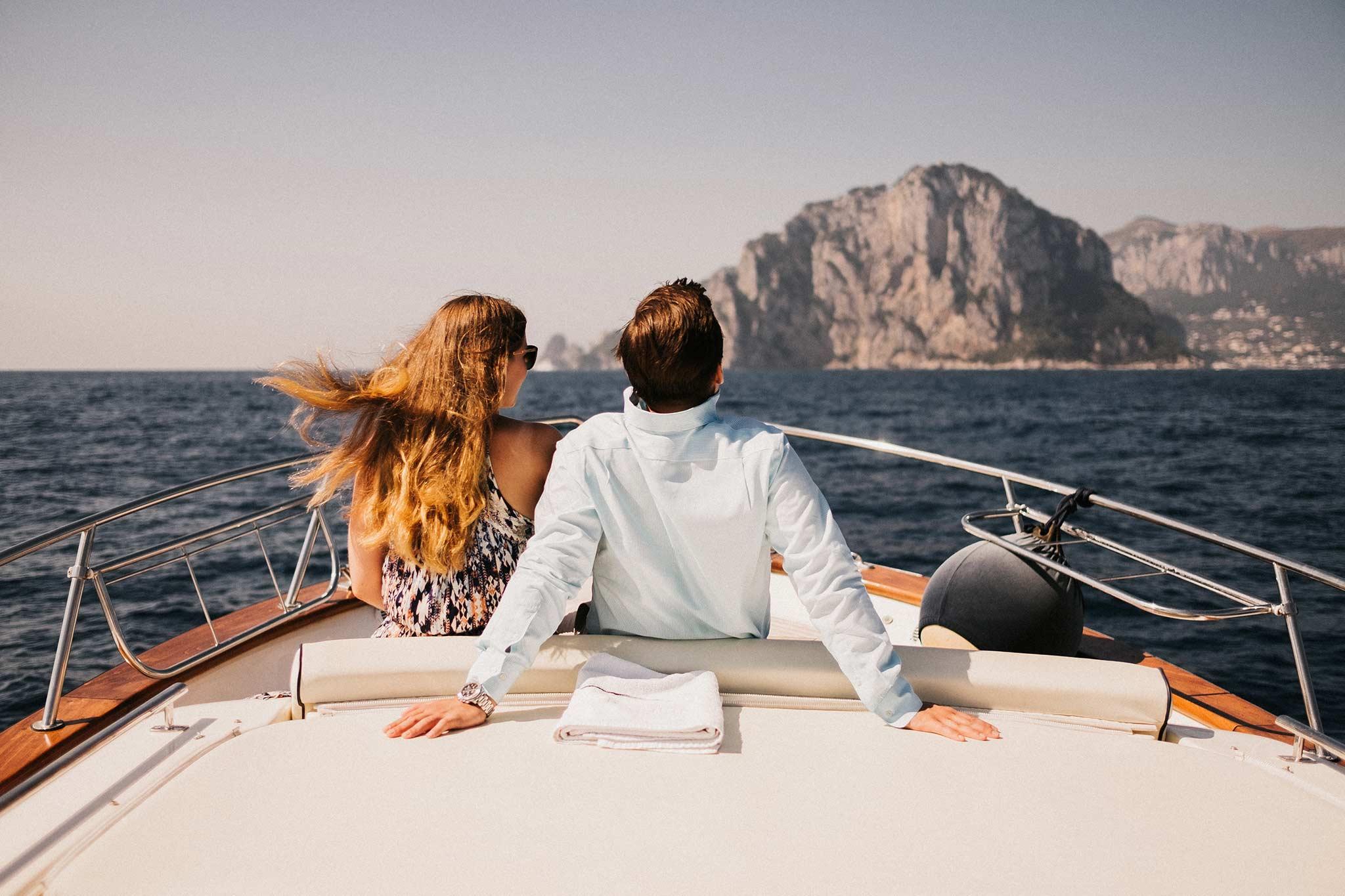 Proposal on boat in Capri island - Joanne & Ian · Mary & Maurizio ...