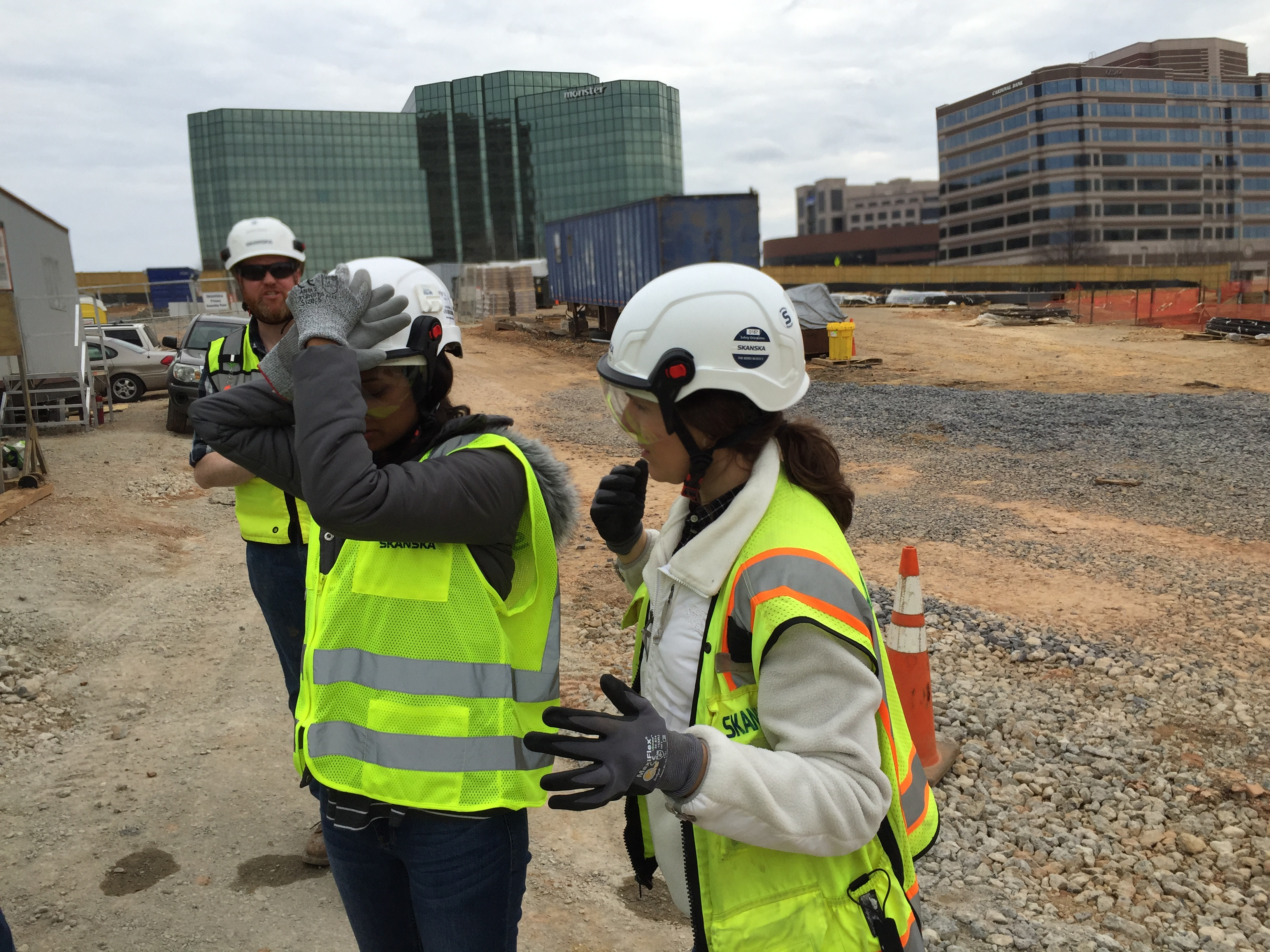 Safety Helmets Are Replacing Hard Hats on Construction Sites - Pine ...