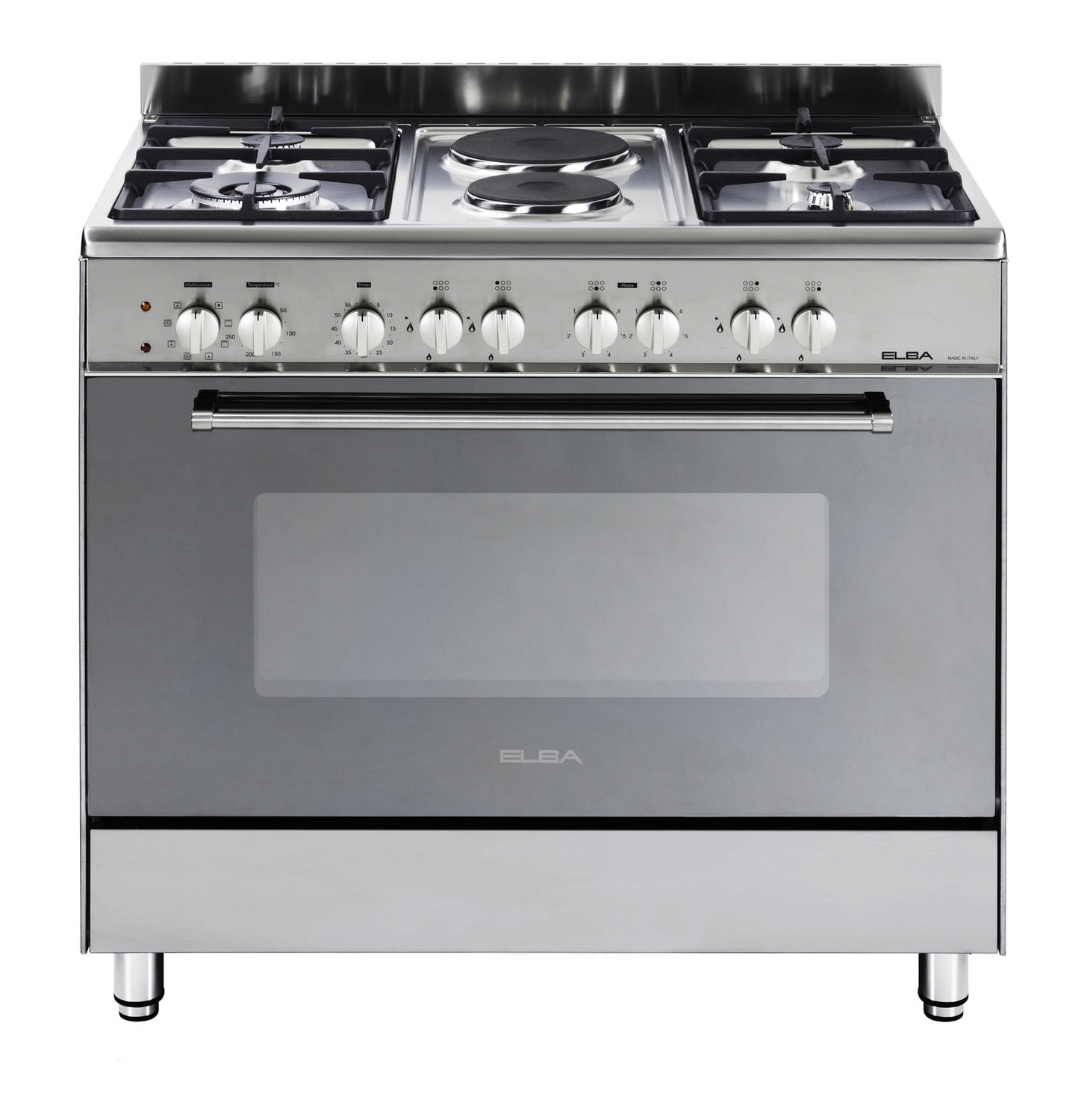 ELBA 900mm 4 Gas Burner\2 Plate Stove Stainless Steel - Lowest ...