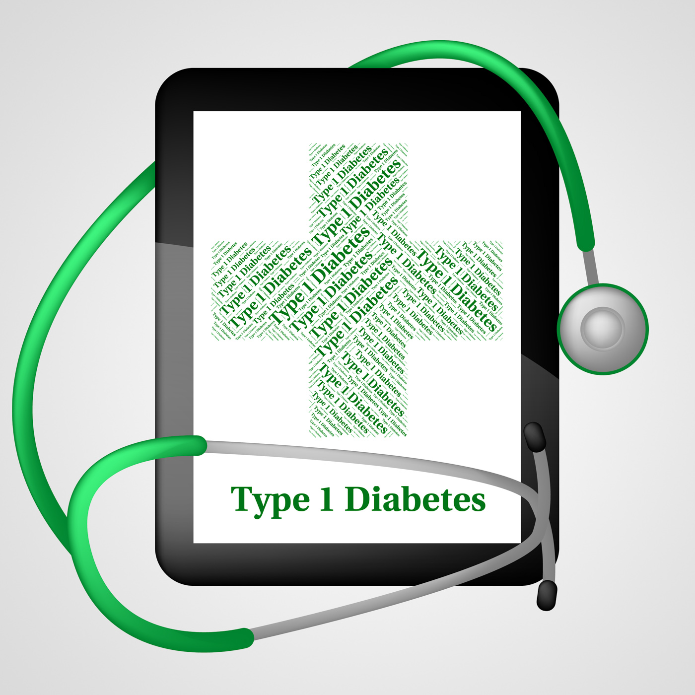 One diabetes shows urine glucose and affliction photo