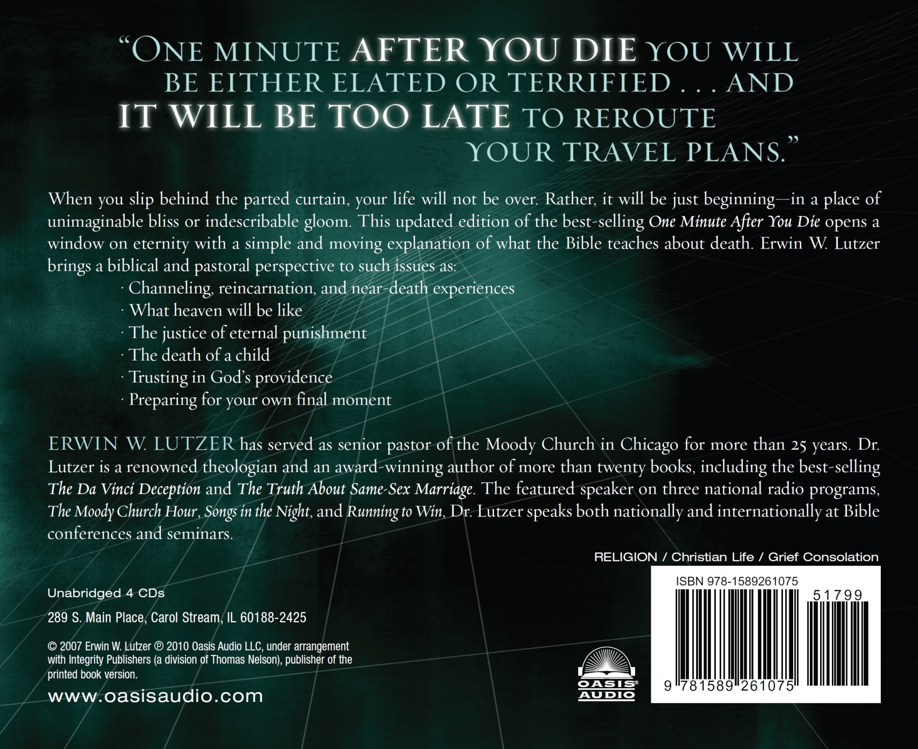 One Minute After You Die: A Preview of Your Final Destination ...