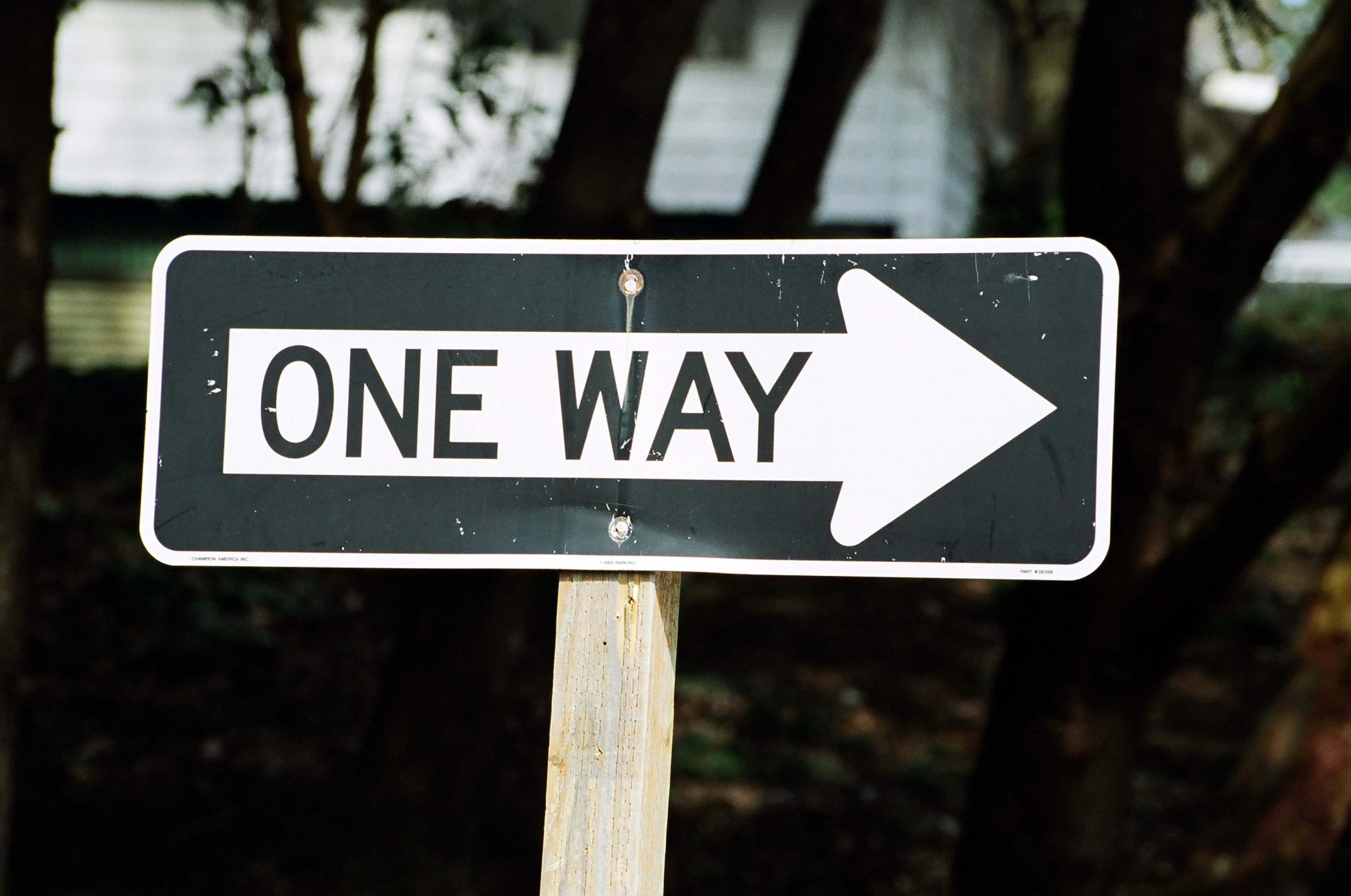 One way photo