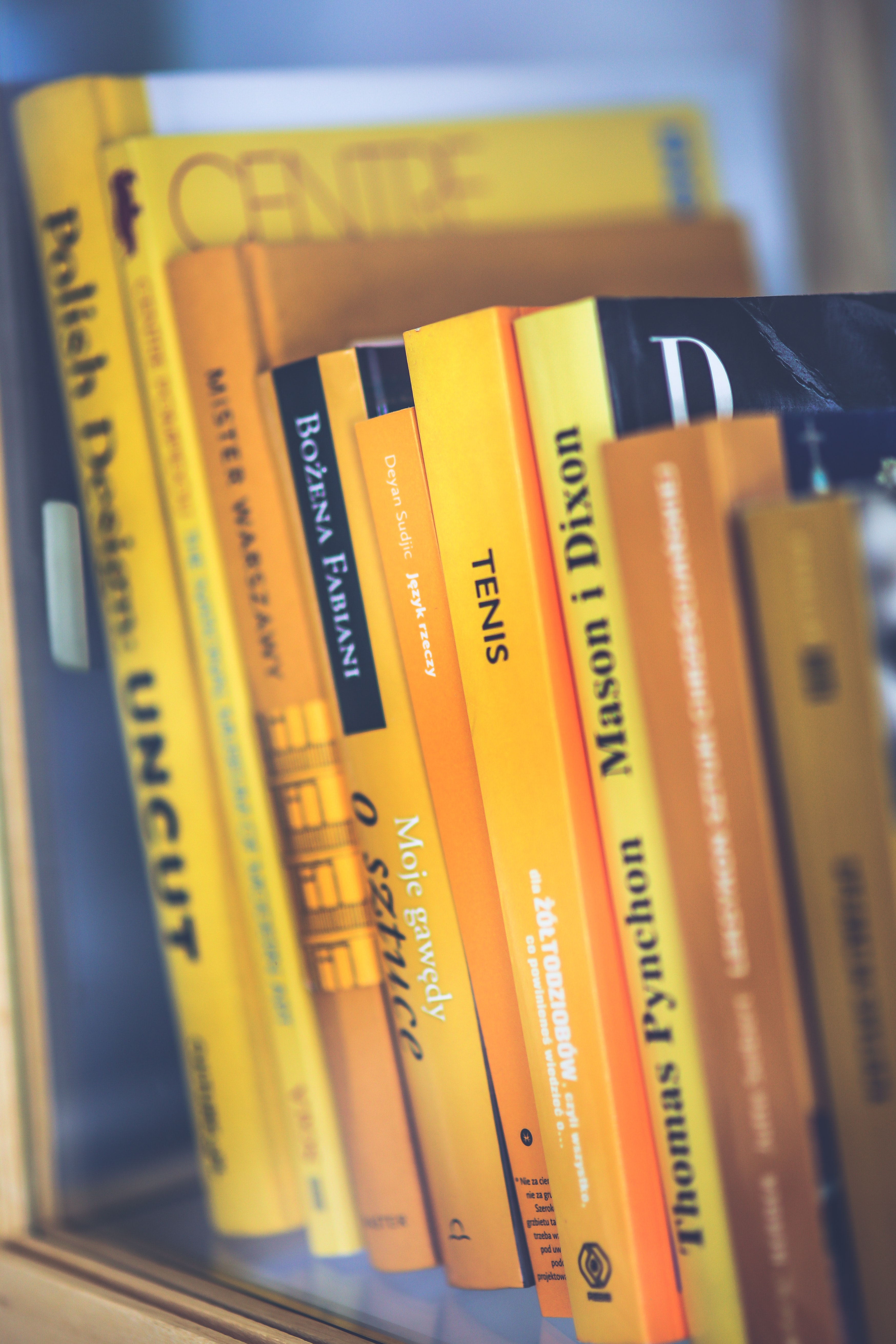 Only yellow books photo