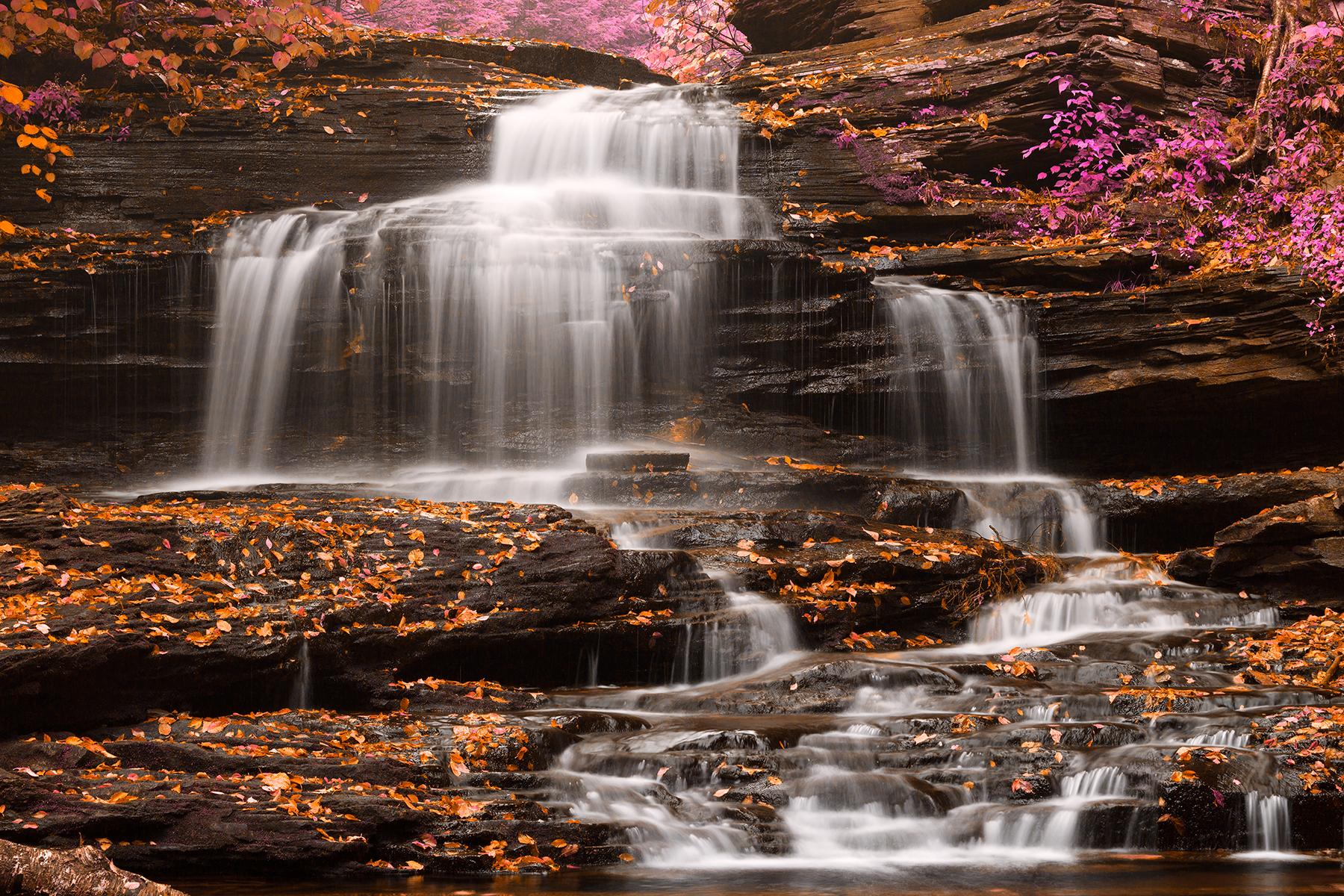 Onondaga falls - pastel fantasy photo