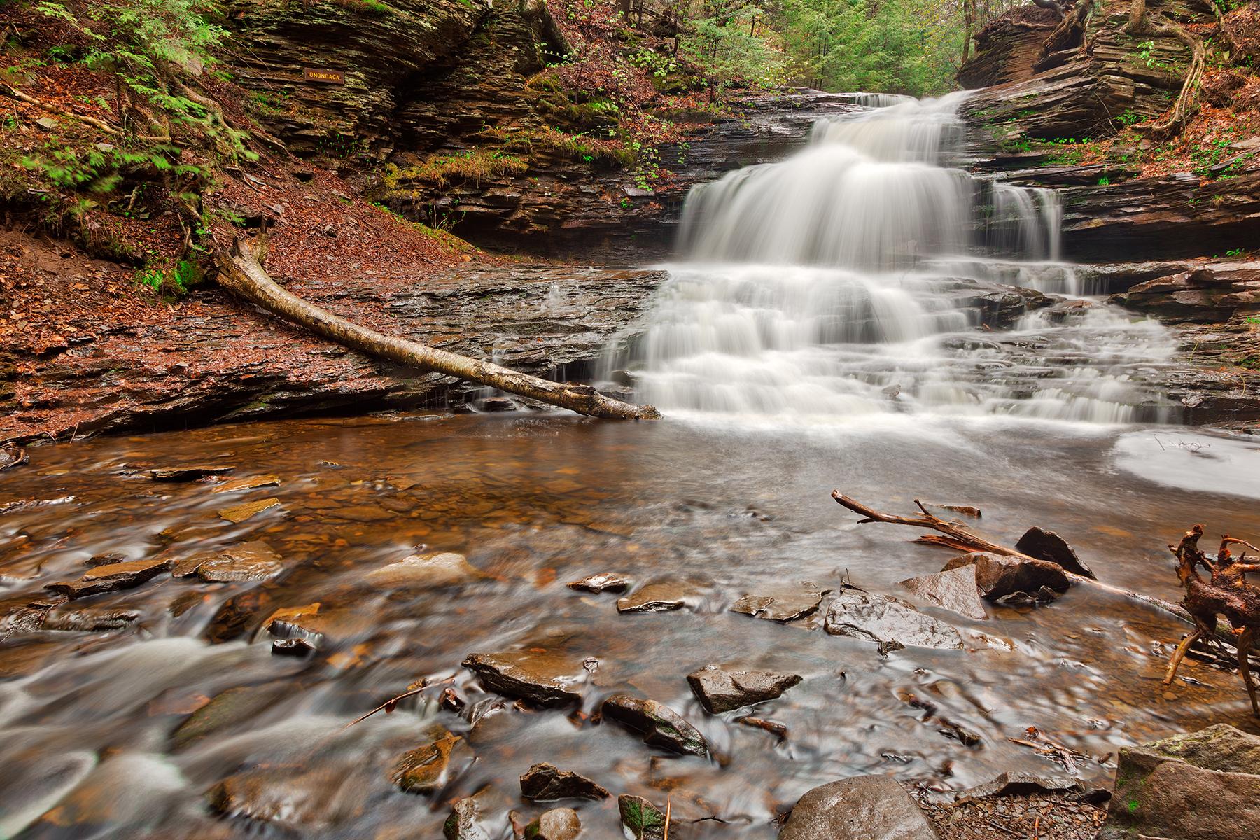 Onondaga spring falls - hdr photo