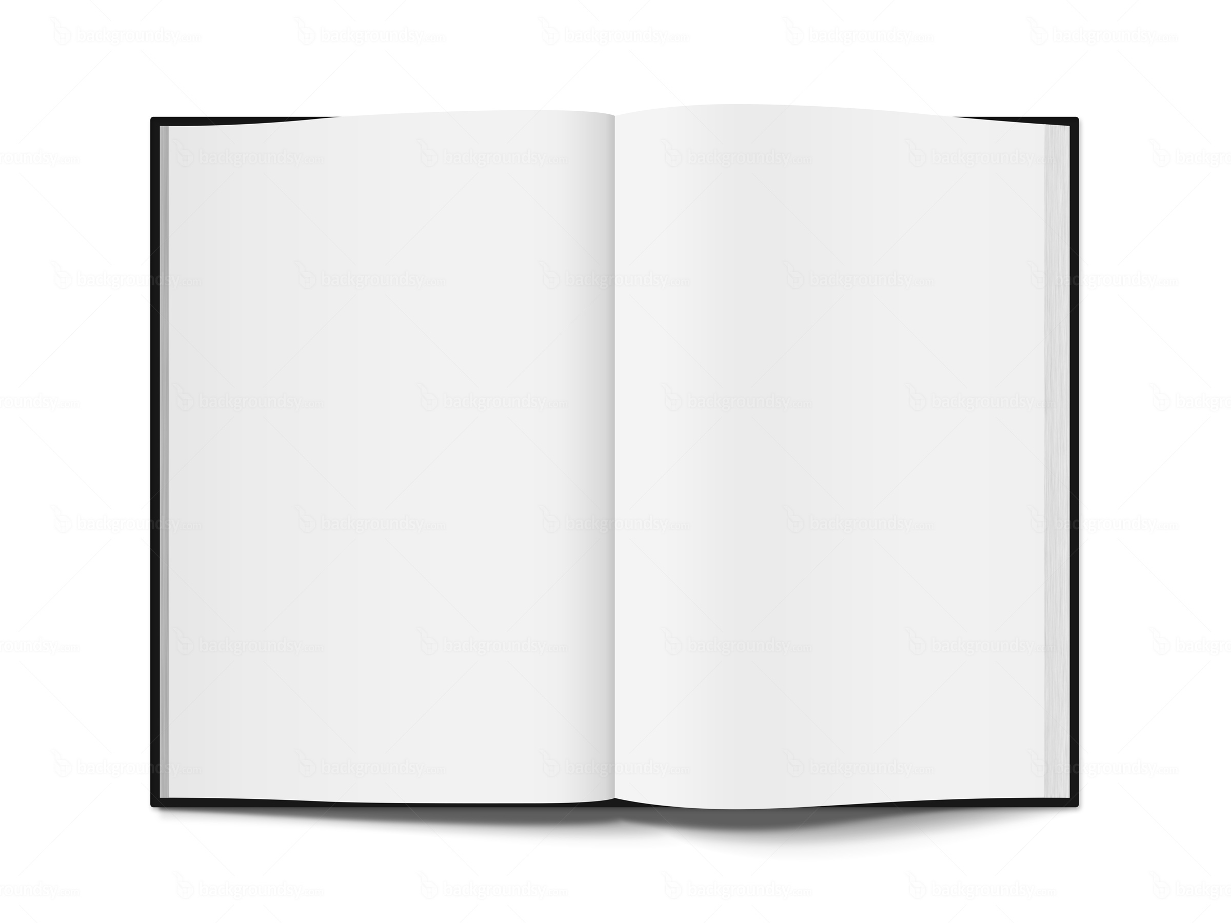 Open book template PNG | Backgroundsy.com