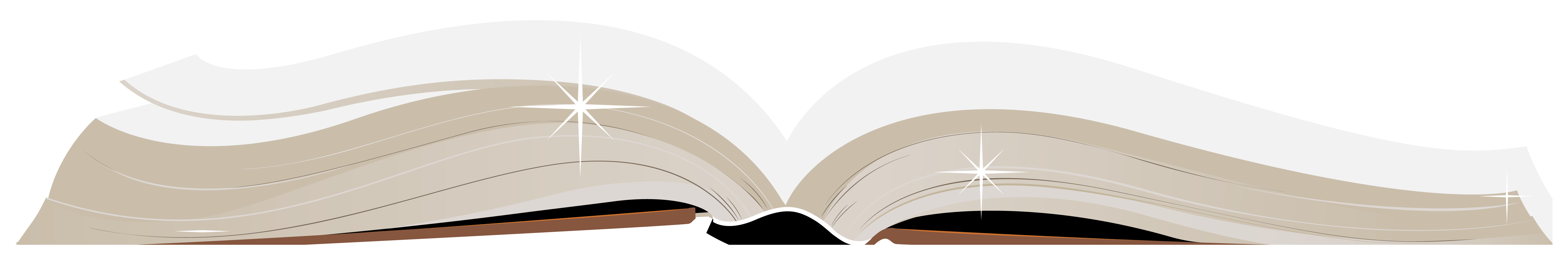 Open Book PNG ClipArt