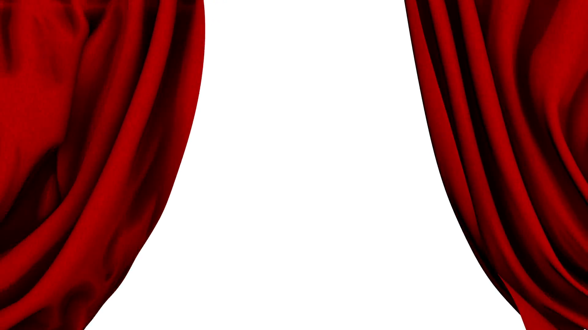 Red Show Curtains Close & Open Quick Transition Motion Background ...
