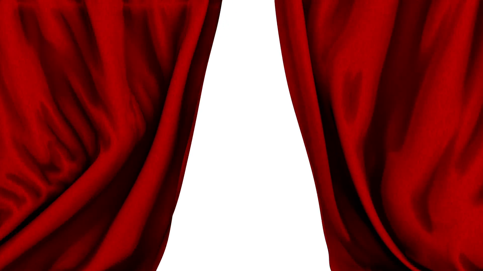 Red Show Curtains Close & Open Slow Transition Motion Background ...