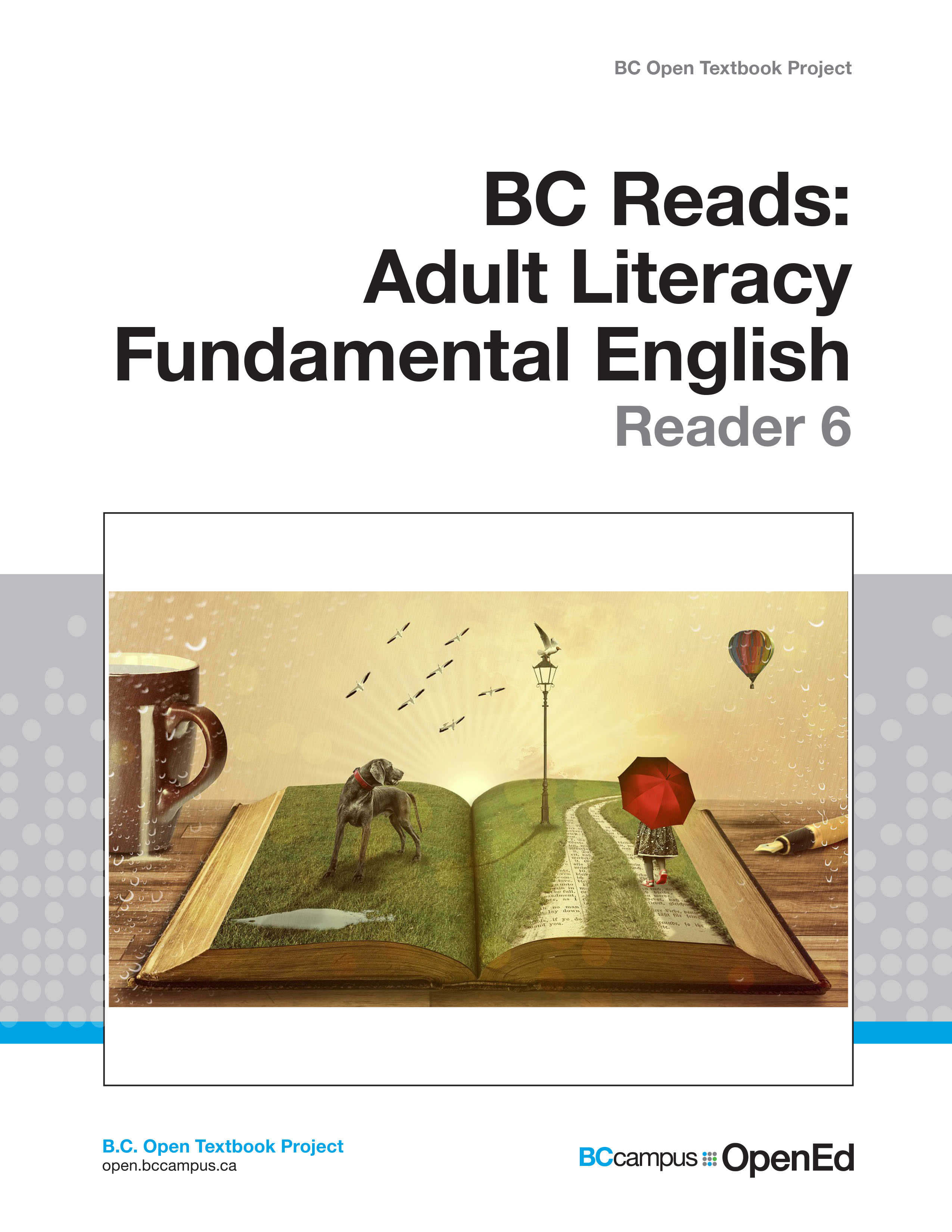 BC Reads: Adult Literacy Fundamental English – Reader 6 – Open Textbook