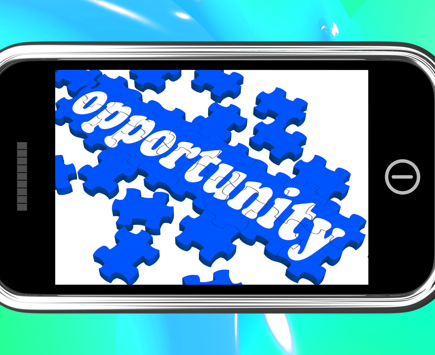 Opportunity on smartphone shows big chances photo