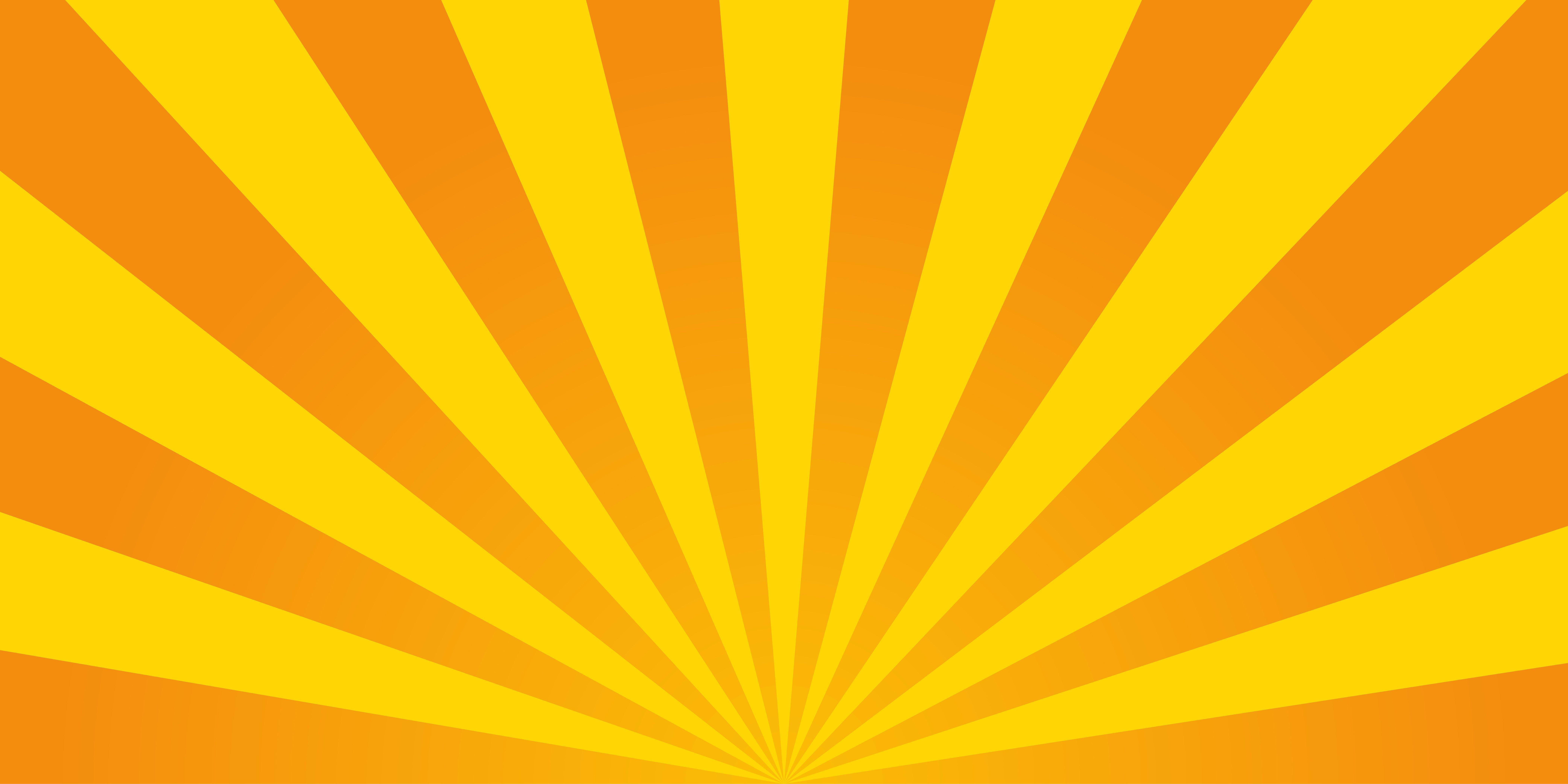 Retro ray orange background ~ Illustrations ~ Creative Market