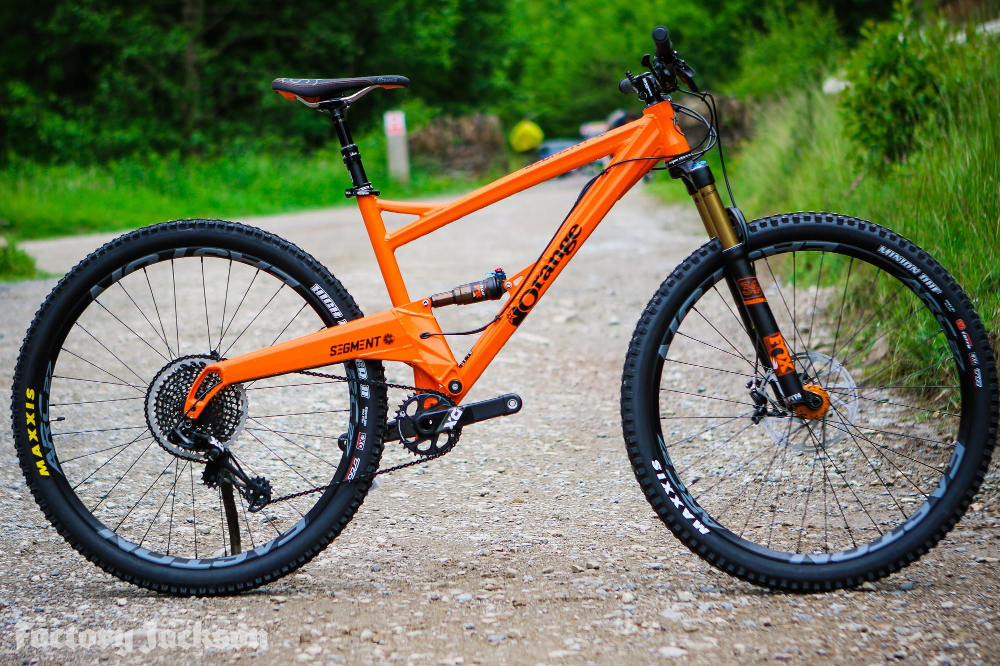 Orange Bikes 2017 | Our Top Picks - Factory Jackson Factory Jackson