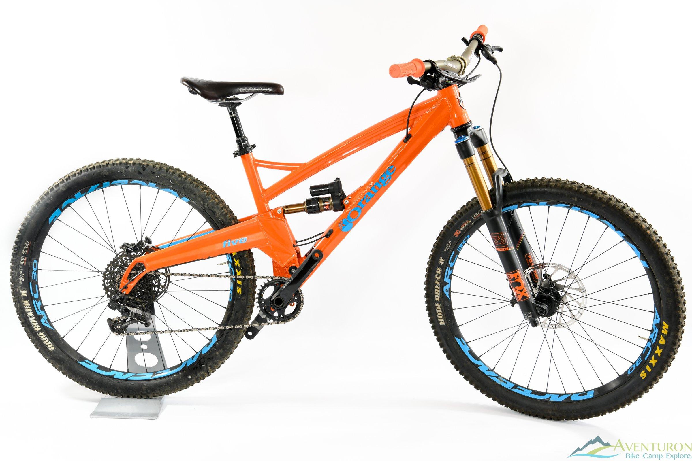 2017 Orange Bikes Five RS w/upgrades demo bike - size Medium – Aventuron