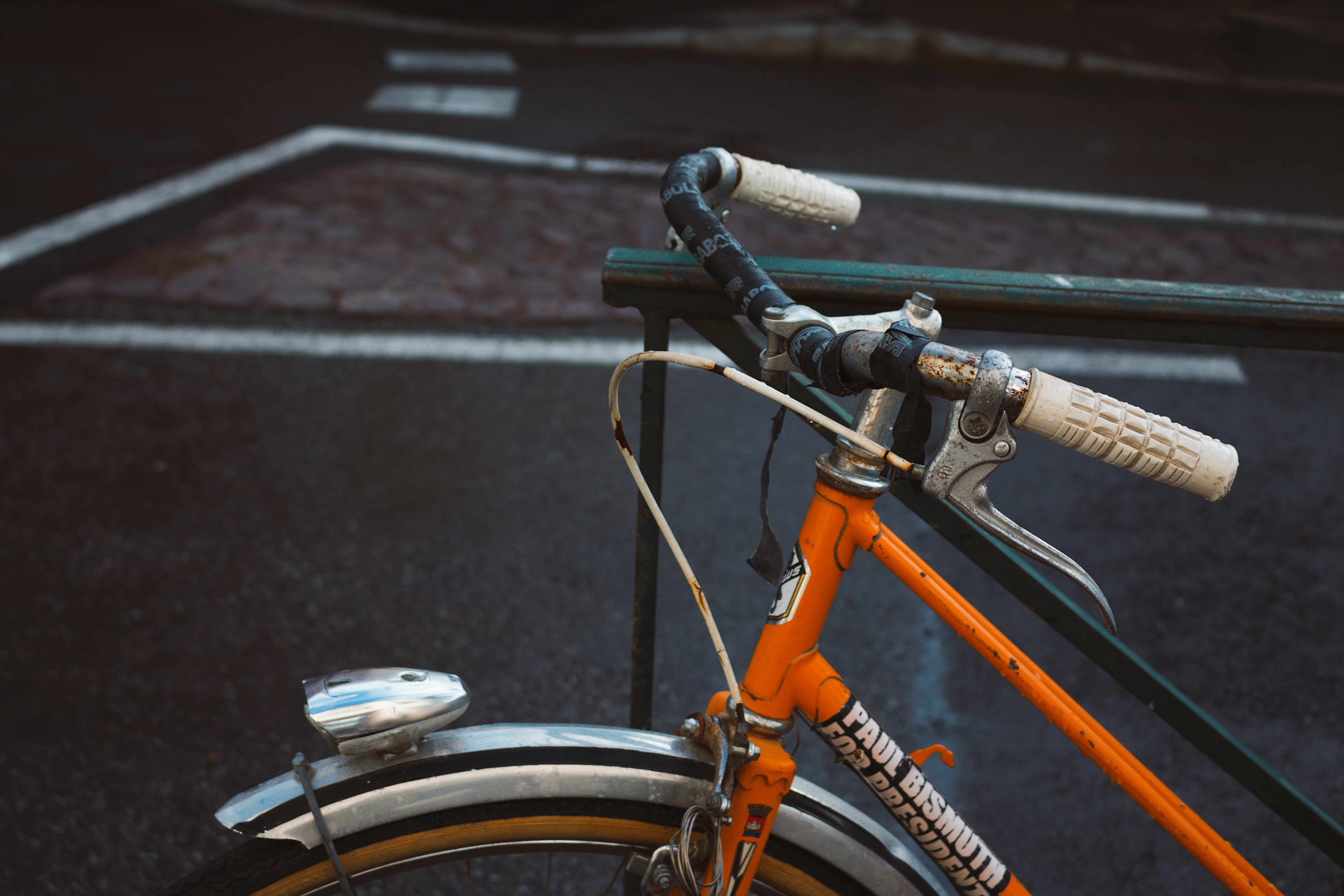 Orange Bicycle, Bicycle, Cycle, Cycling, Exercise, HQ Photo