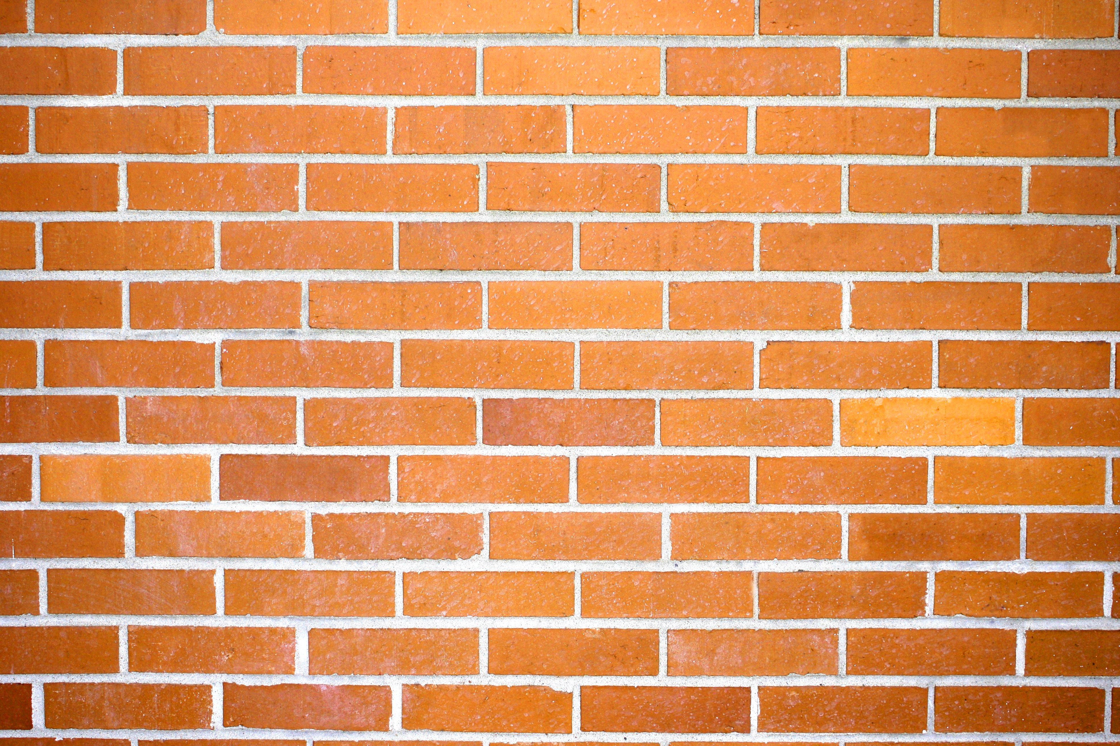 Orange Brick Wall Texture Picture | Free Photograph | Photos Public ...