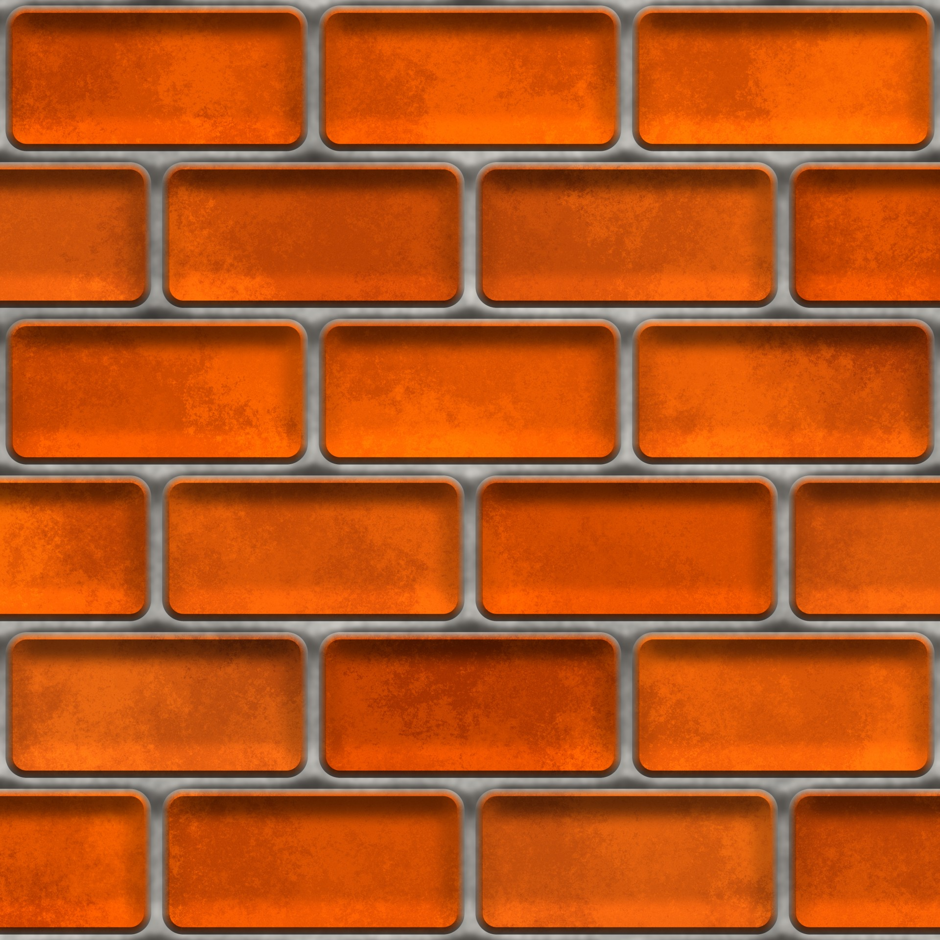 Red Orange Brick Wall Free Stock Photo - Public Domain Pictures