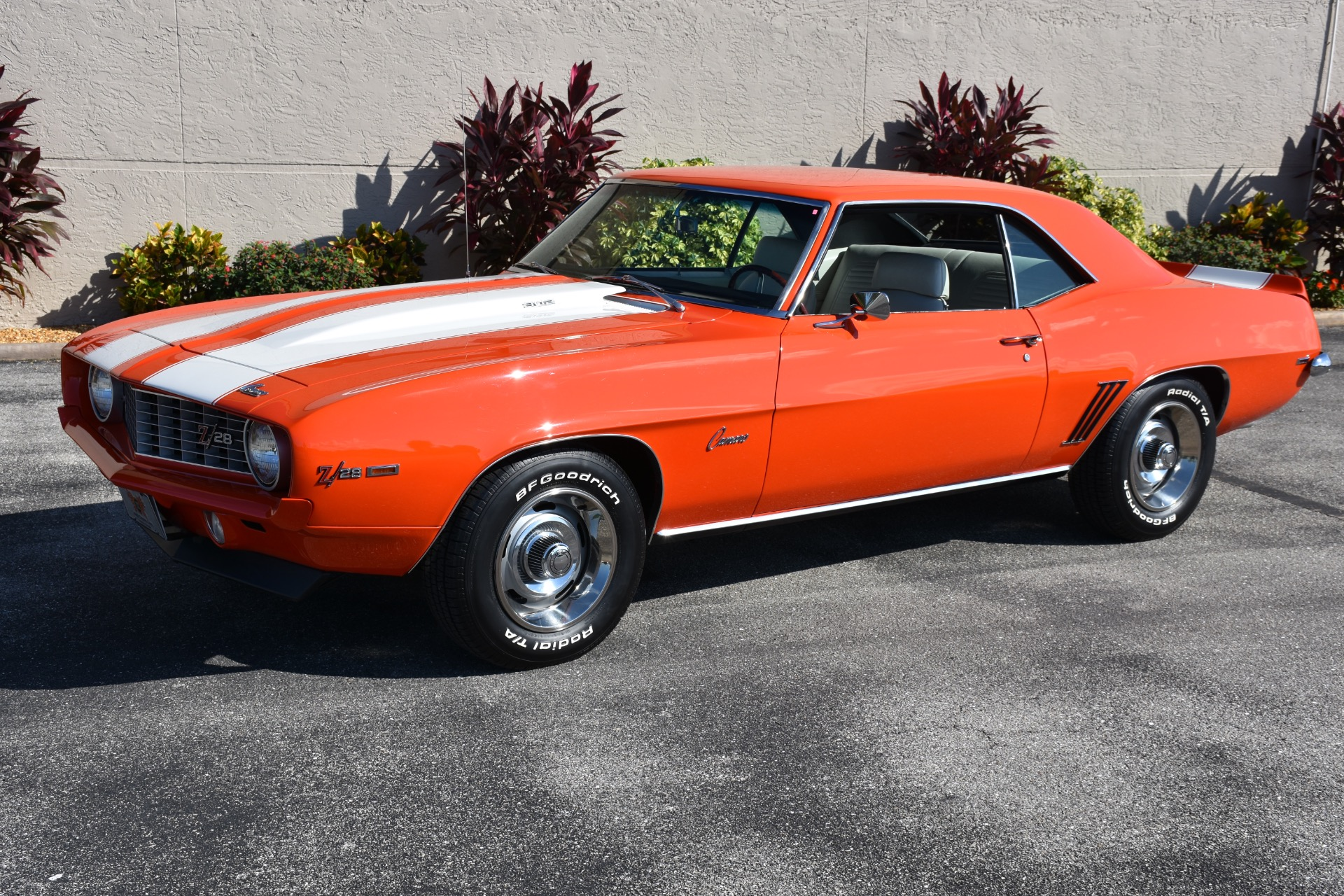 Used 1969 Chevrolet Camaro Z/28 Rotisserie Restoration Hugger Orange ...