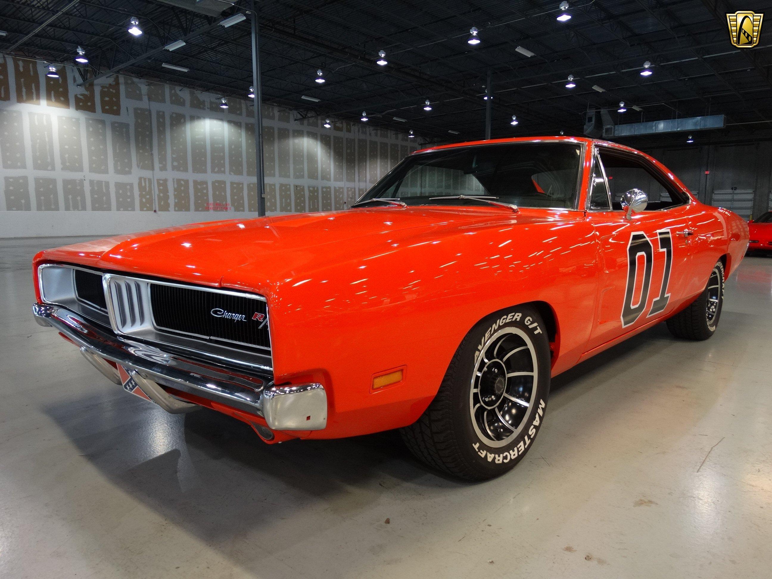 1969 Dodge Charger General Lee orange classic cars wallpaper ...