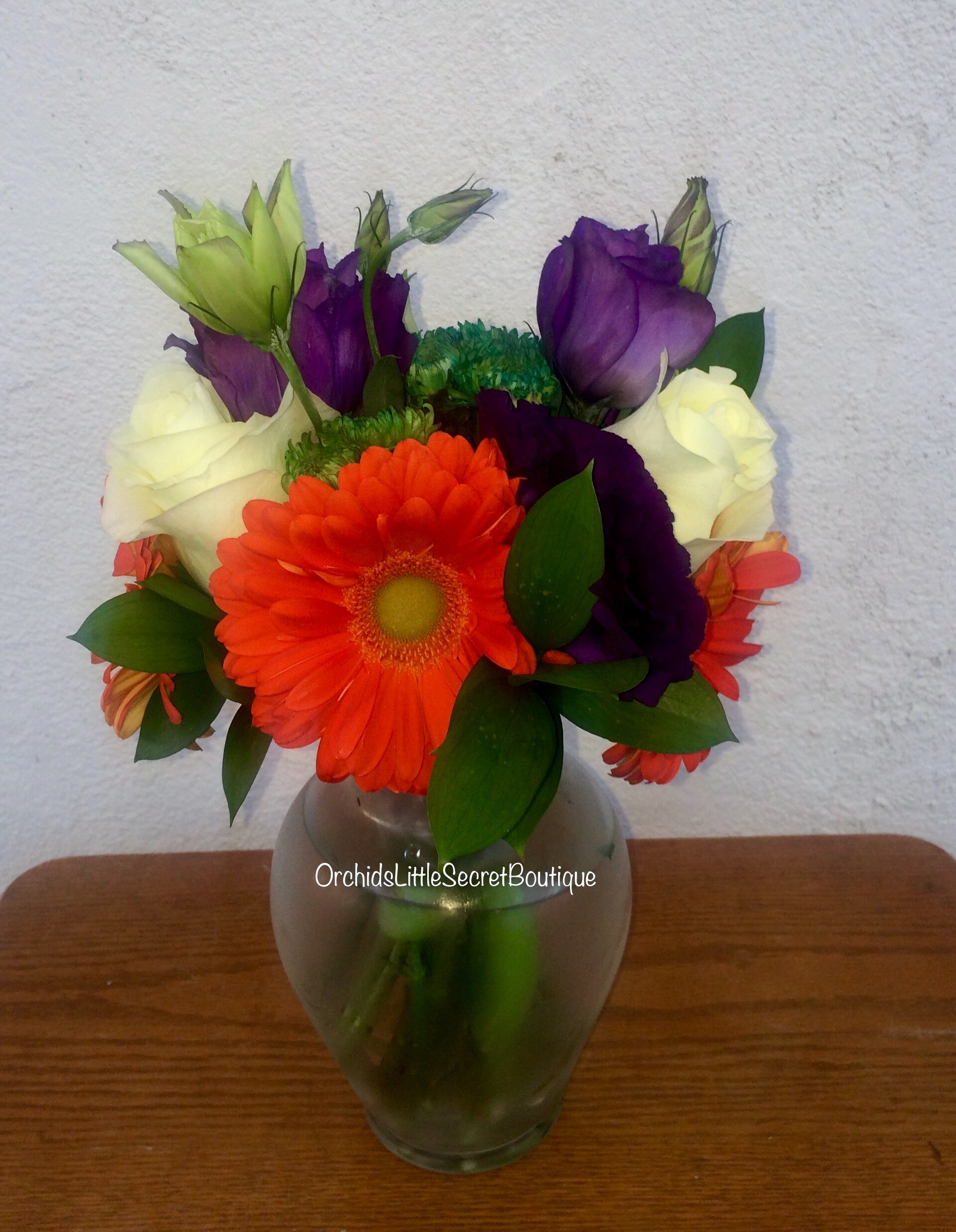 Orange gerbera photo