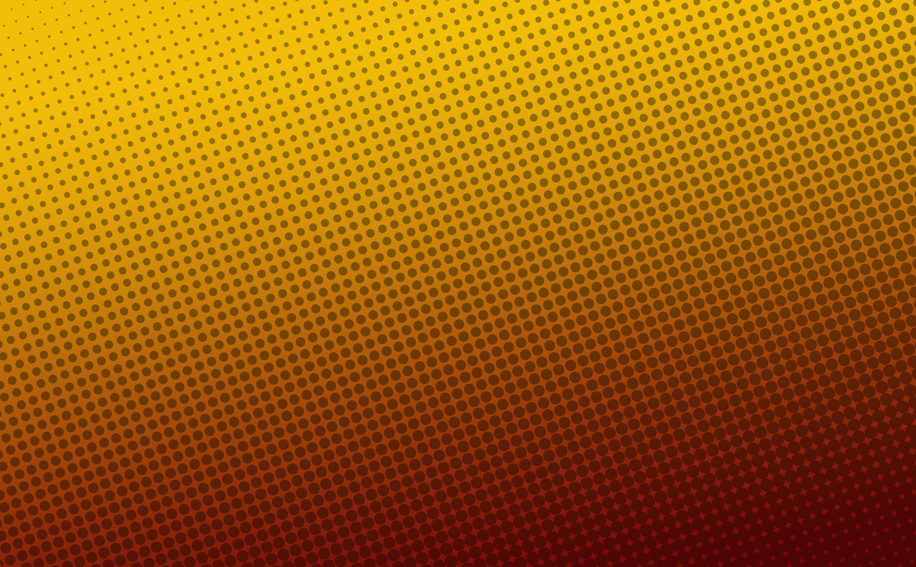 Orange halftone background photo