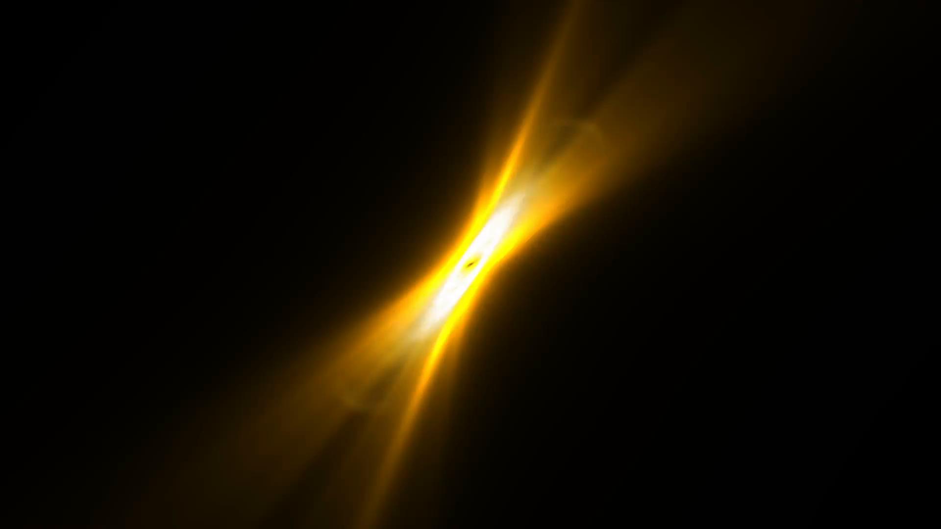 Orange light effects Motion Background - Videoblocks
