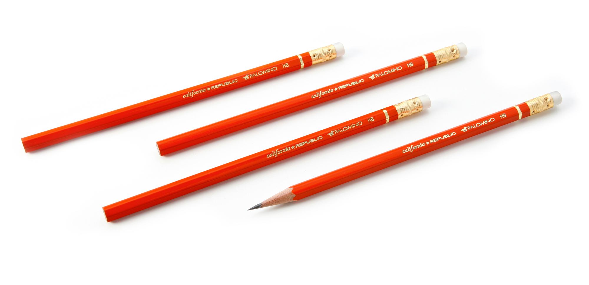 Palomino Orange Eraser-Tipped HB Pencil - Palomino