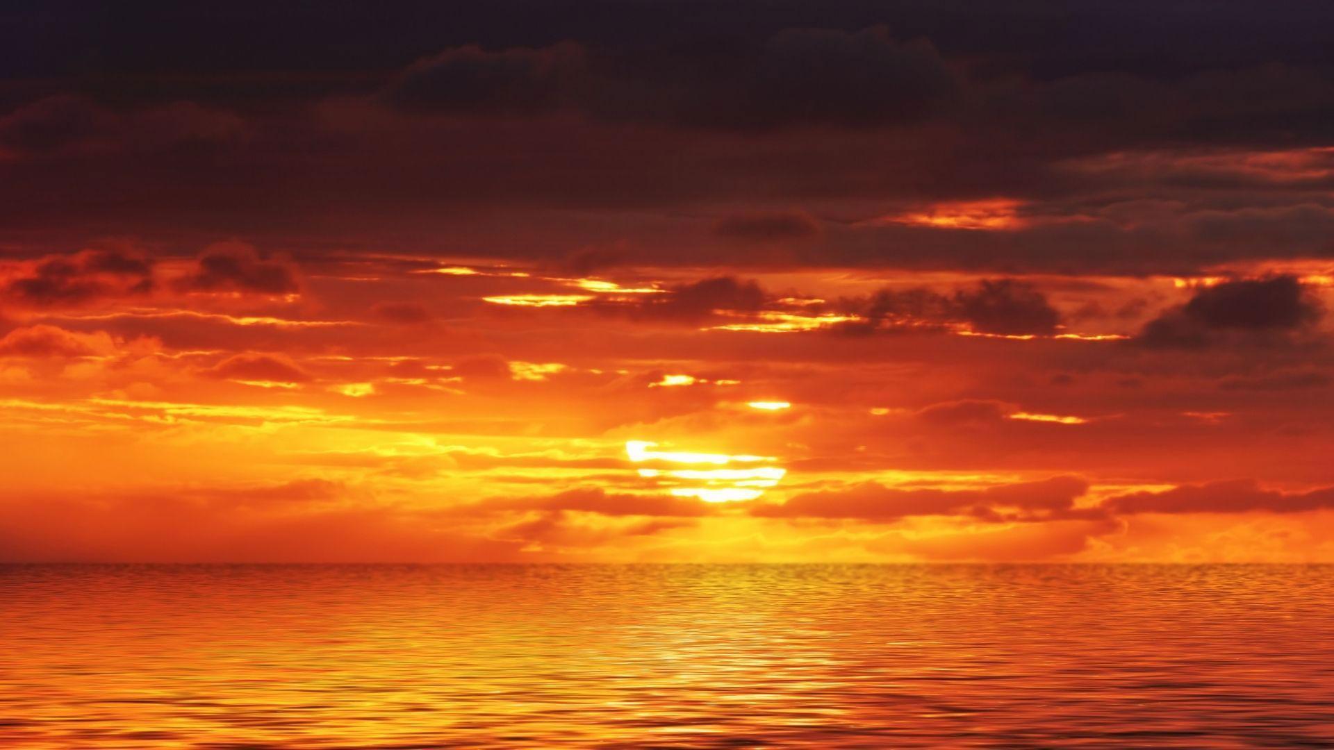 orange sky background 11 | Background Check All