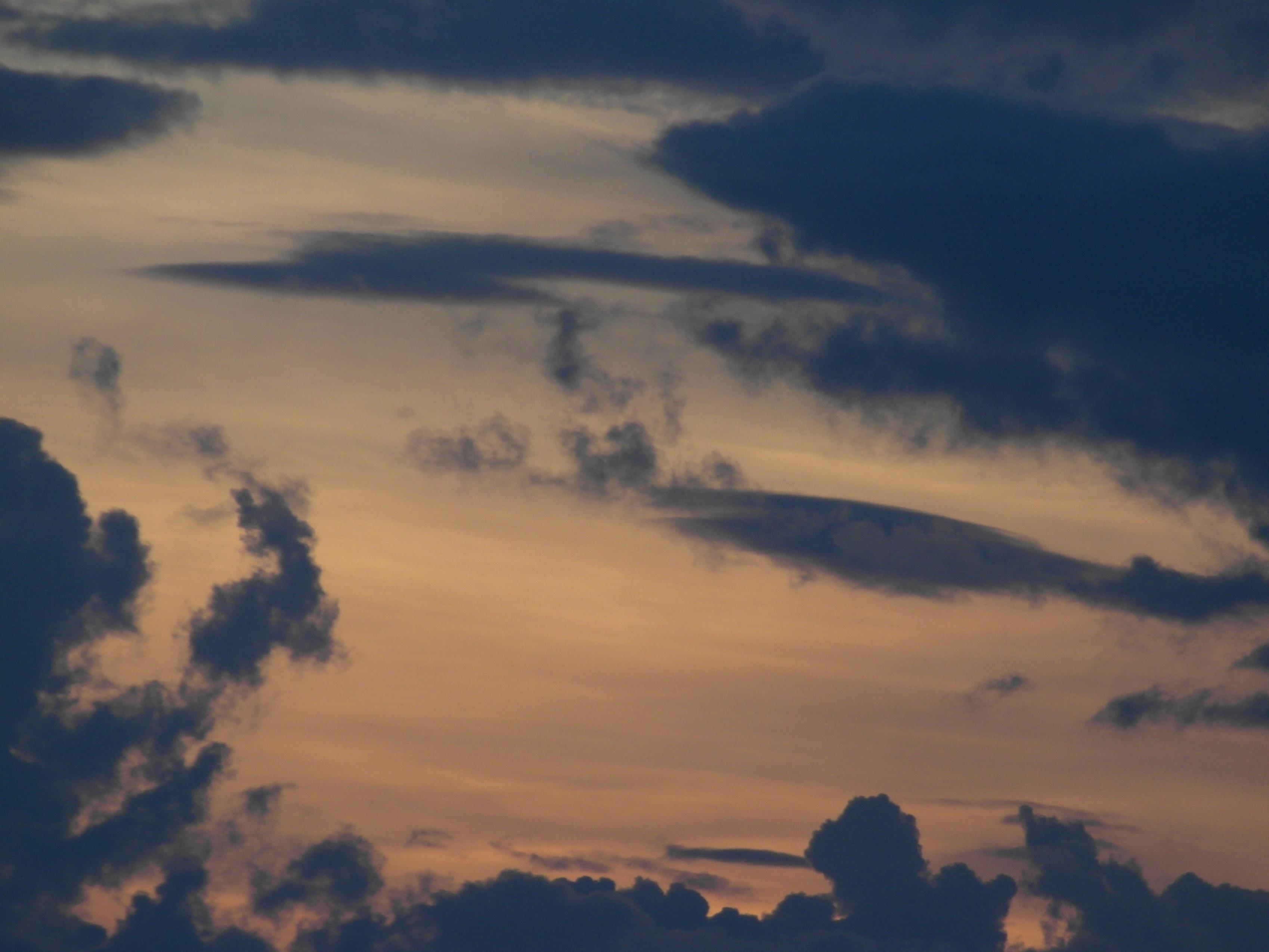 Orange Sky Background, Air, Space, Nature, Orange, HQ Photo